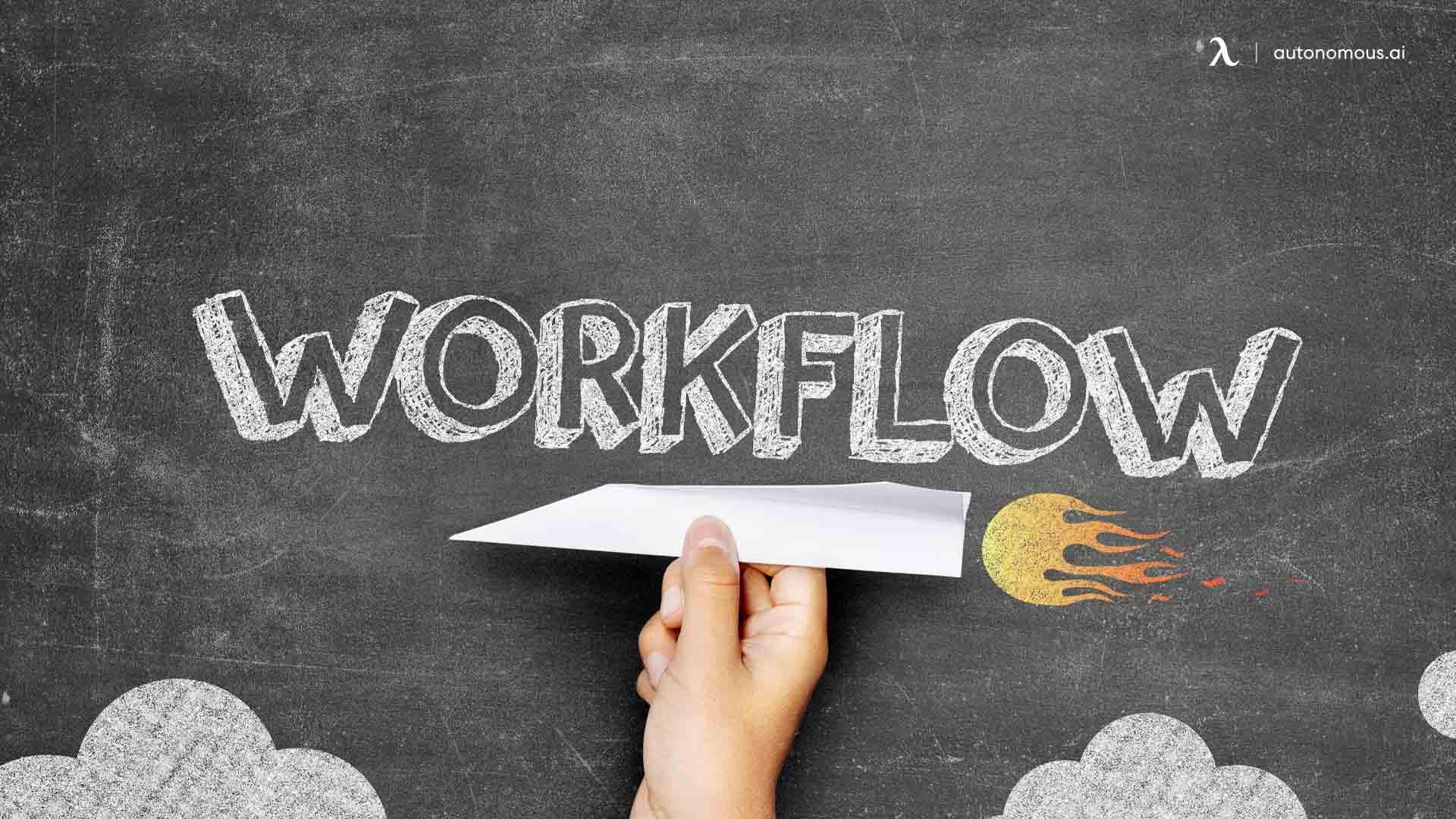 Improving the workflow may increase employee satisfaction
