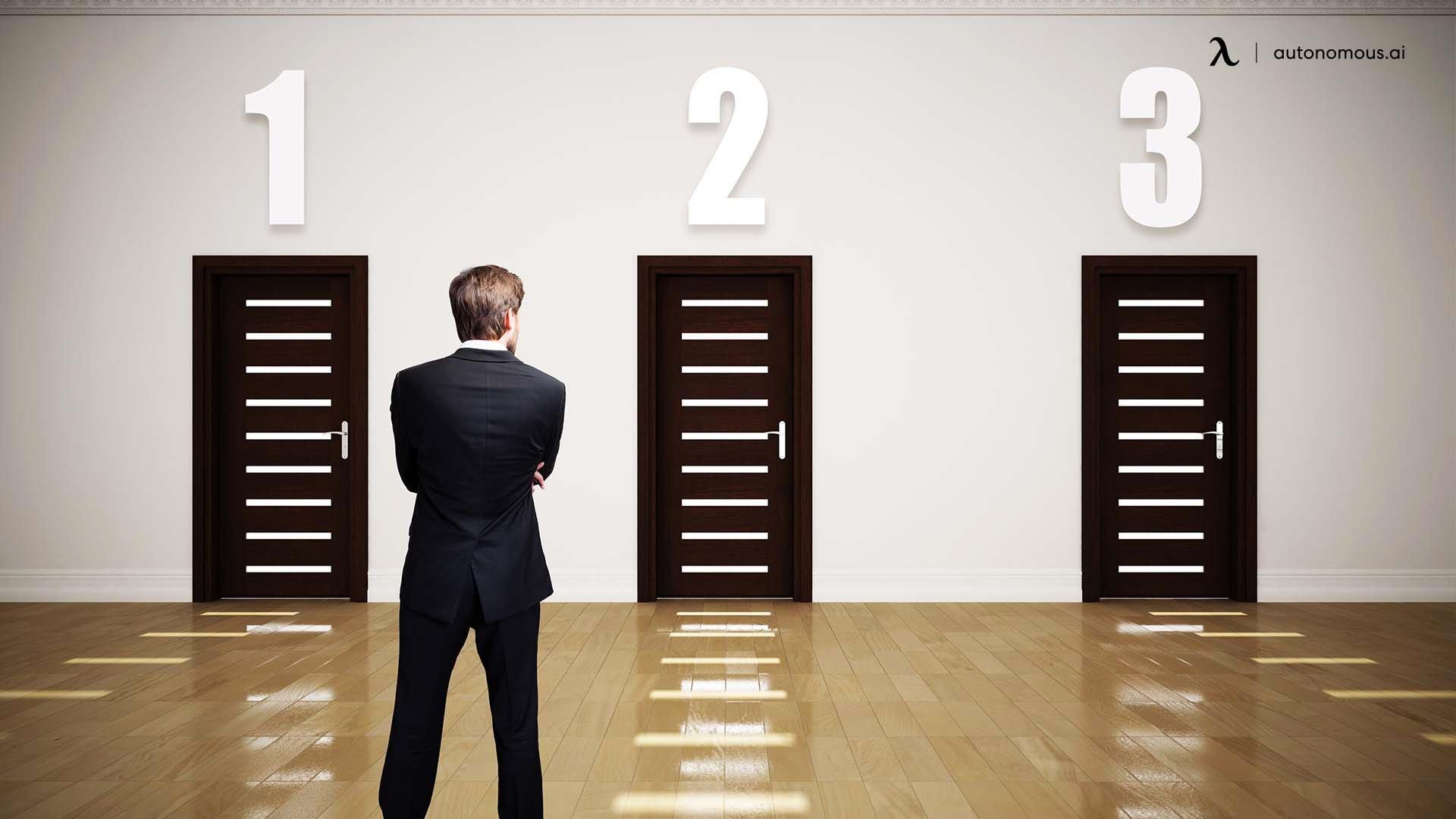 Provide multiple work options