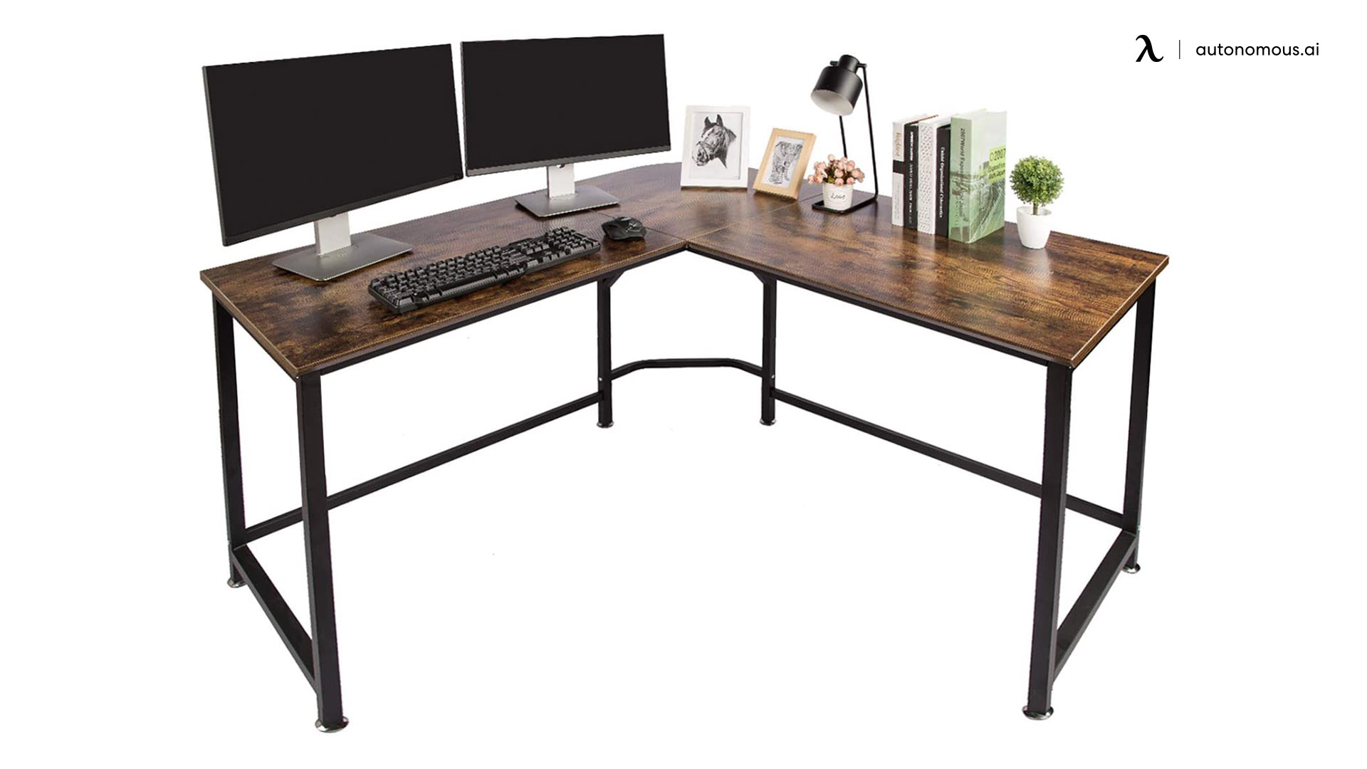 L-shaped corner workstation from Topsky