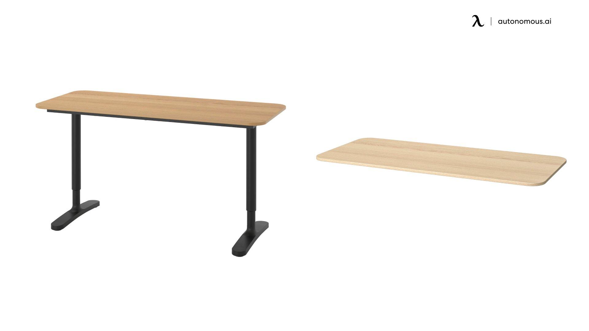 Bekant Solid Wood Desk Top