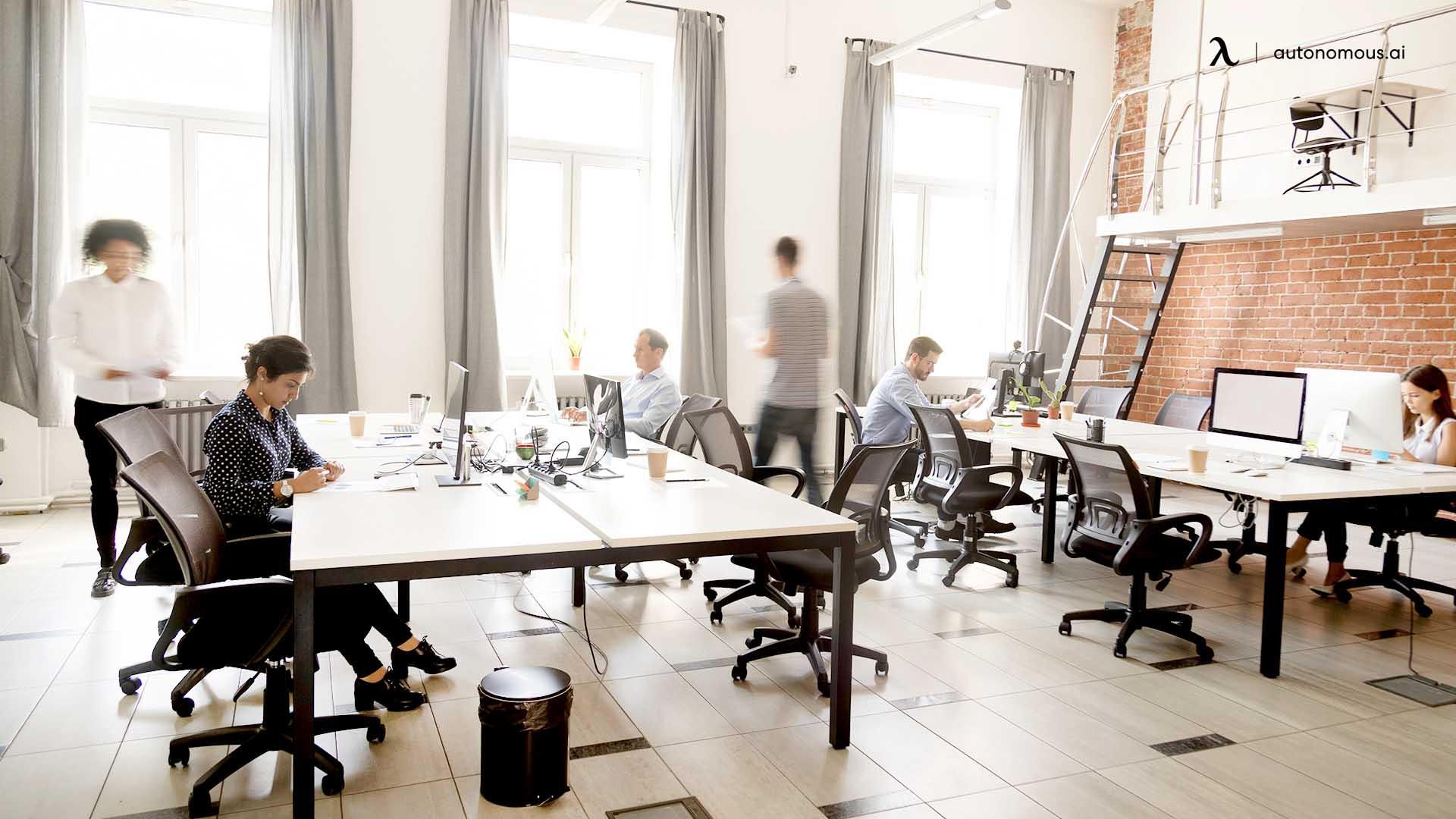 About coworking spaces and shared workspaces