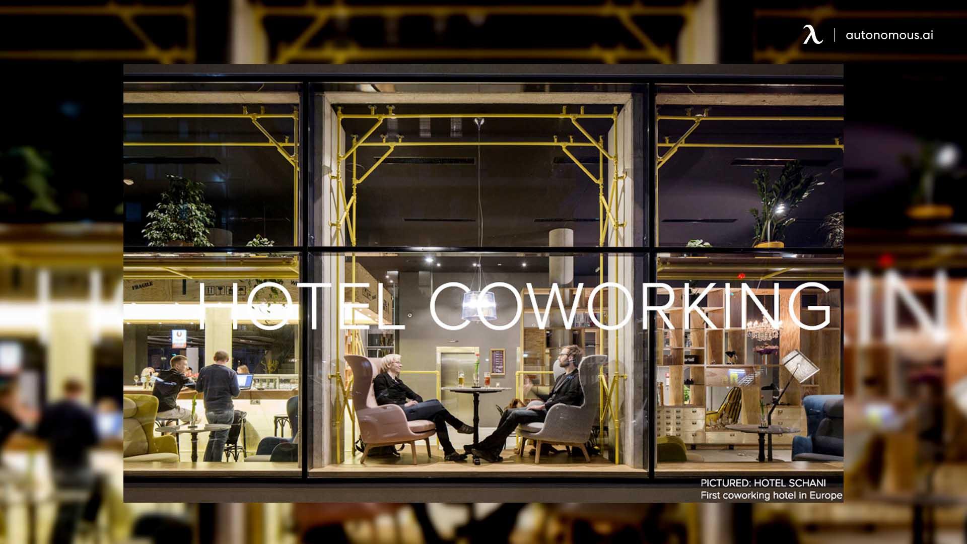 How did coworking begin?