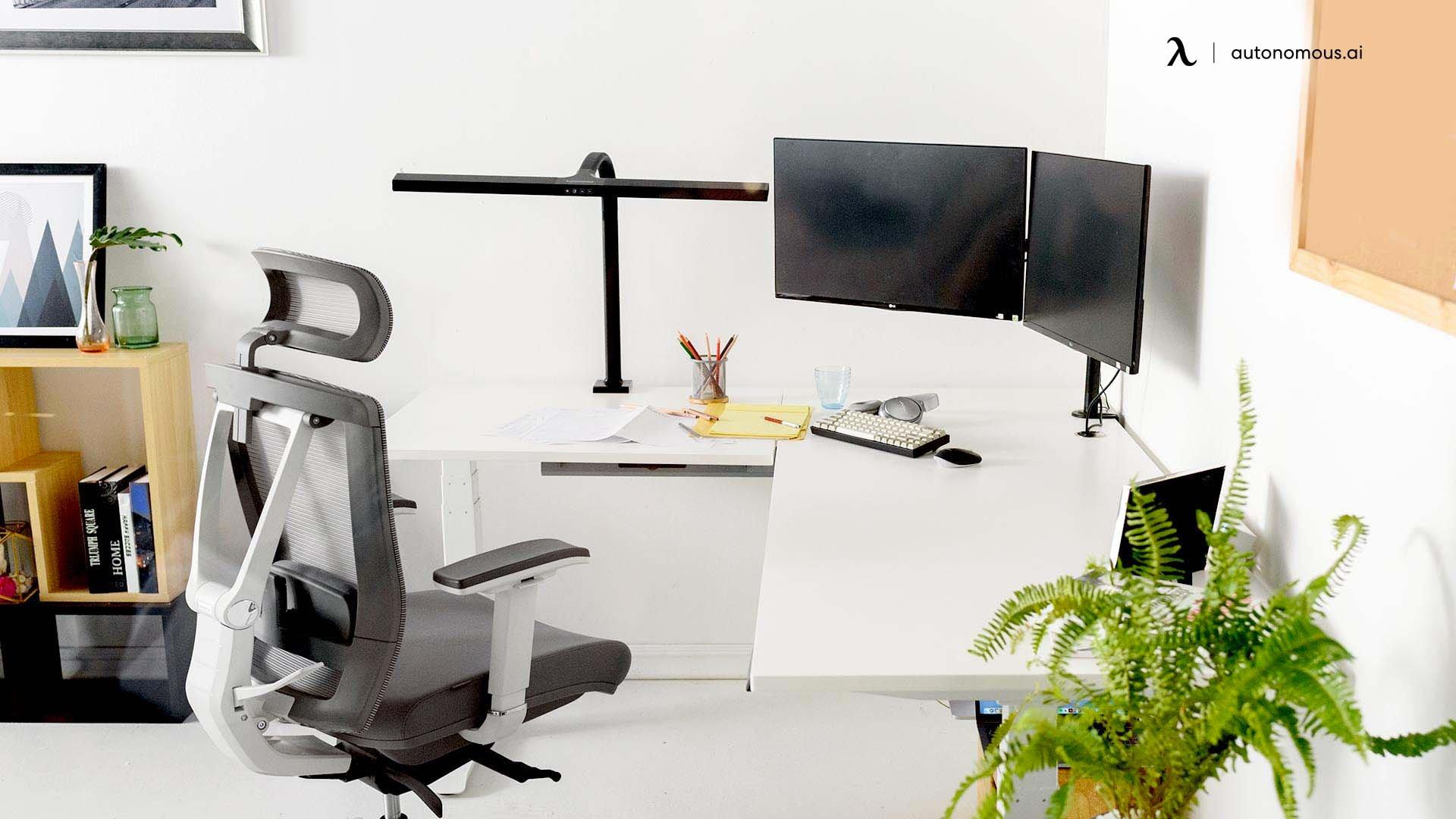 Kitchen office workspace