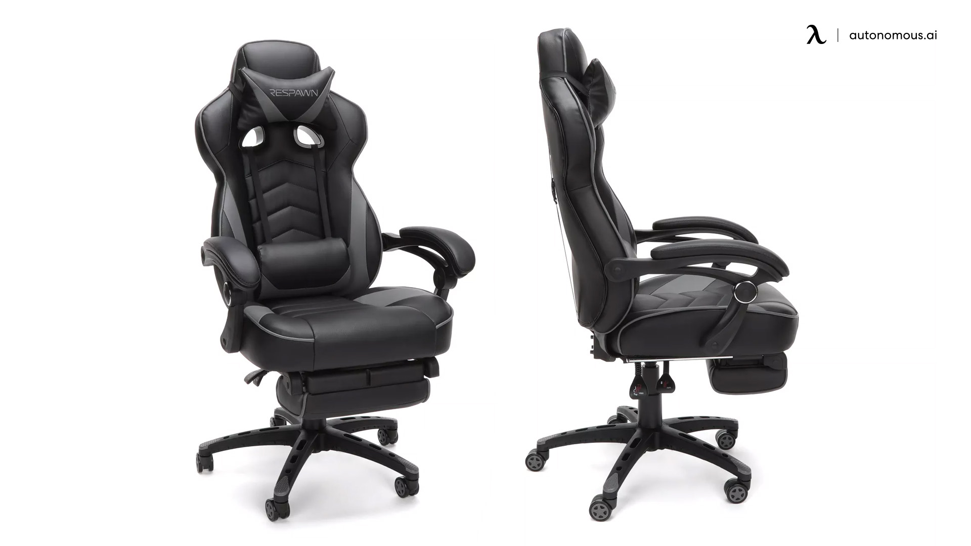 Respawning Reclining Office Chair with Footrest