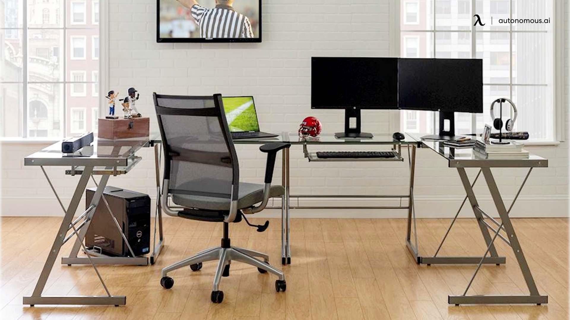 Walker Edison L-shaped Desk