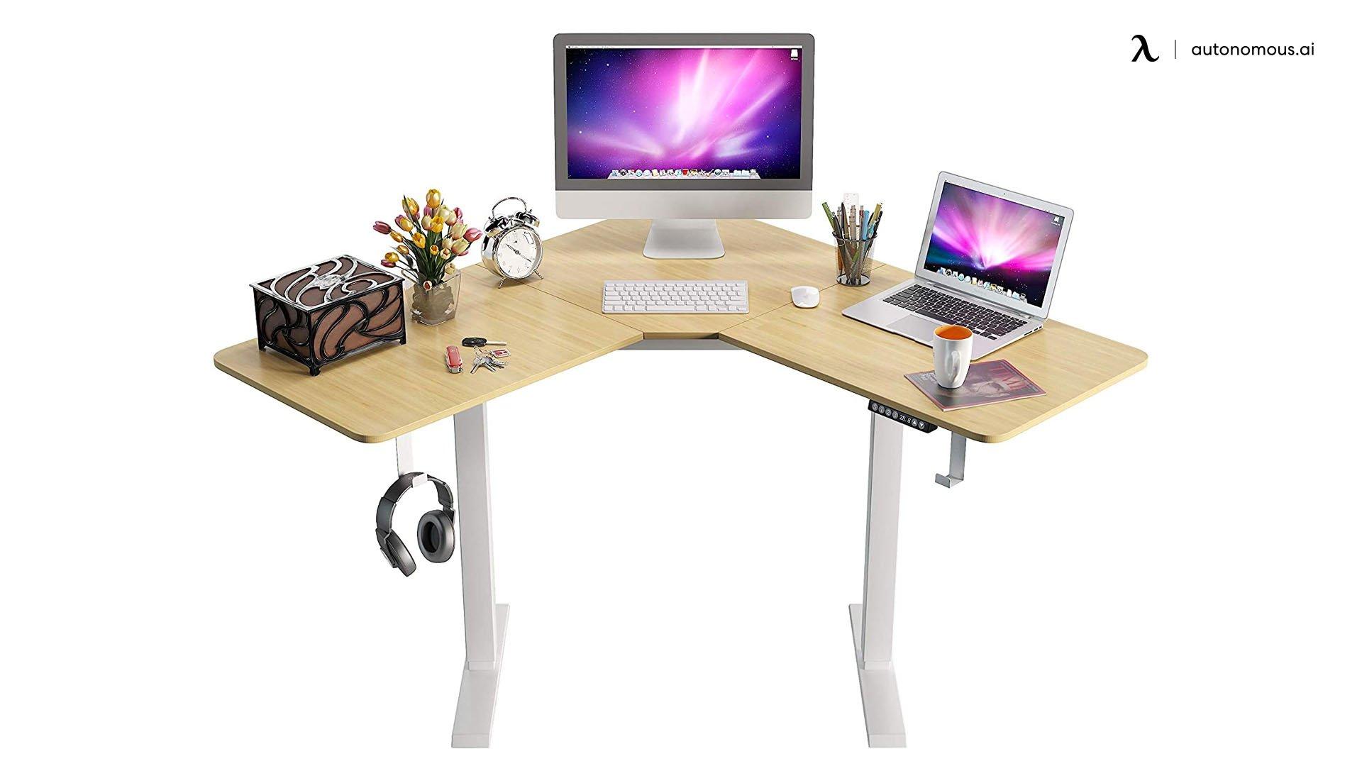 Howzone Motorized Corner Desk