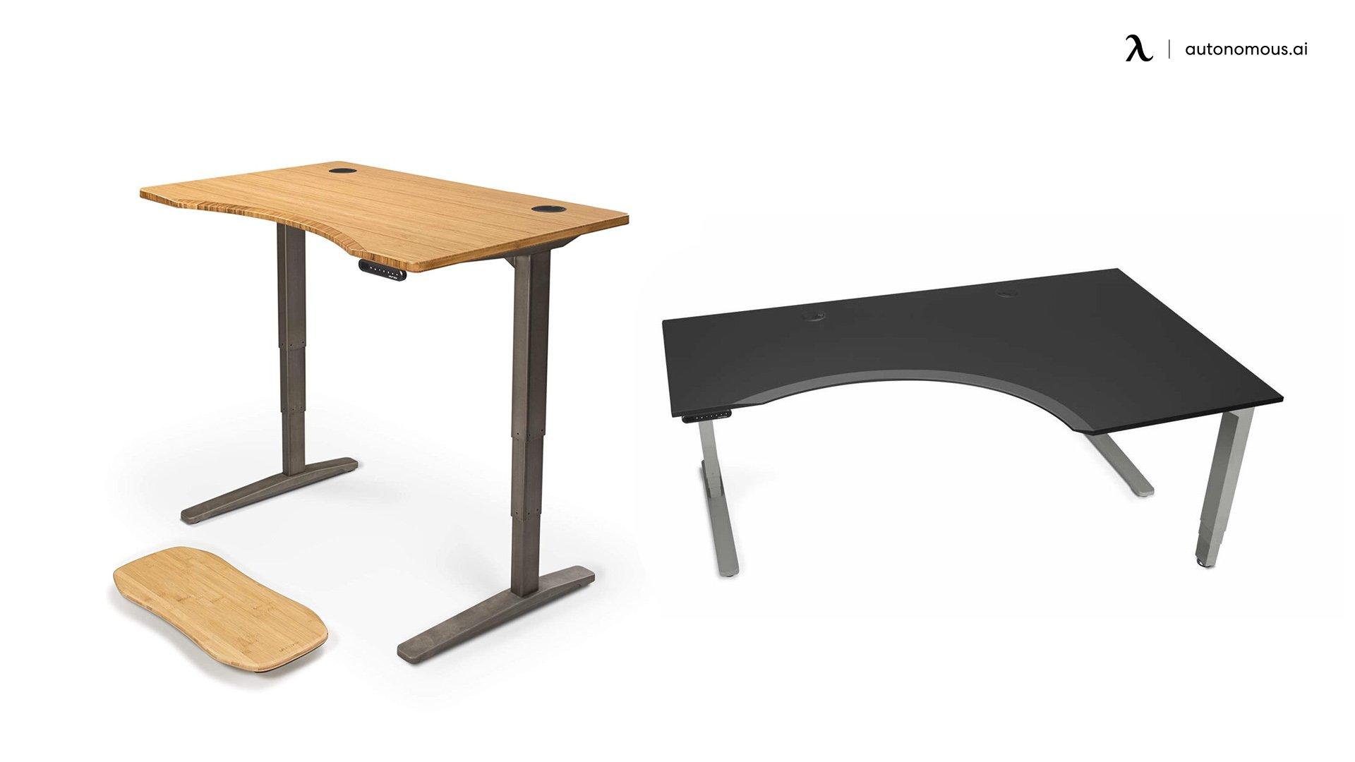 Uplift V2 Curved Electric Standing Desk
