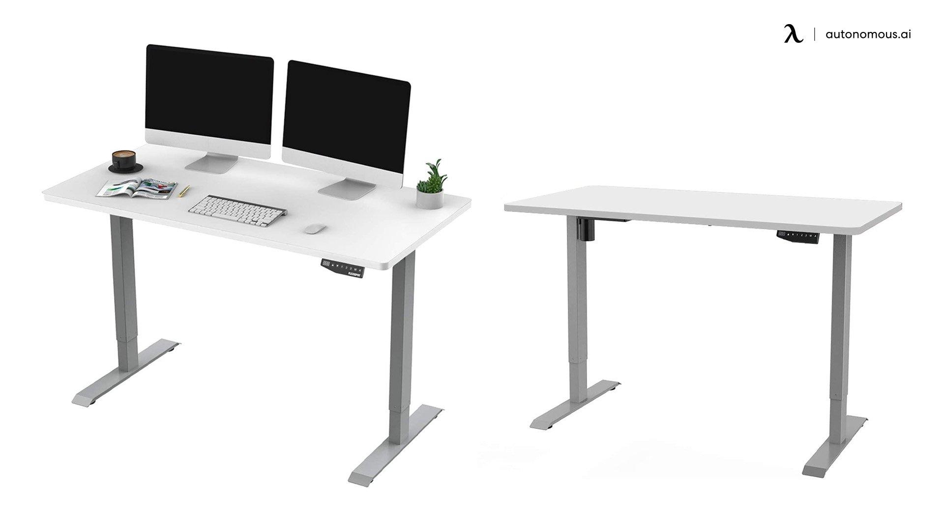 Flexispot's EN1 Electric White Standing Desk