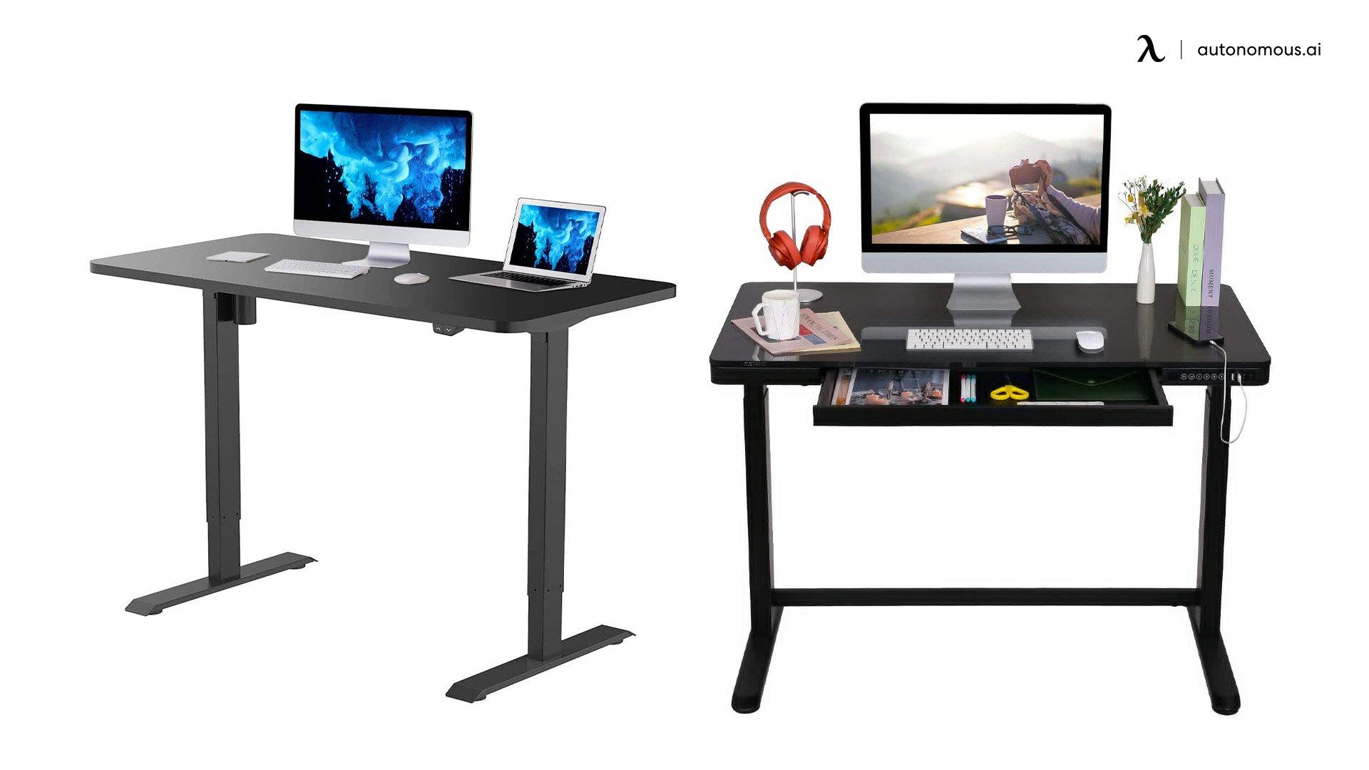 Black Standing Desk by Flexispot