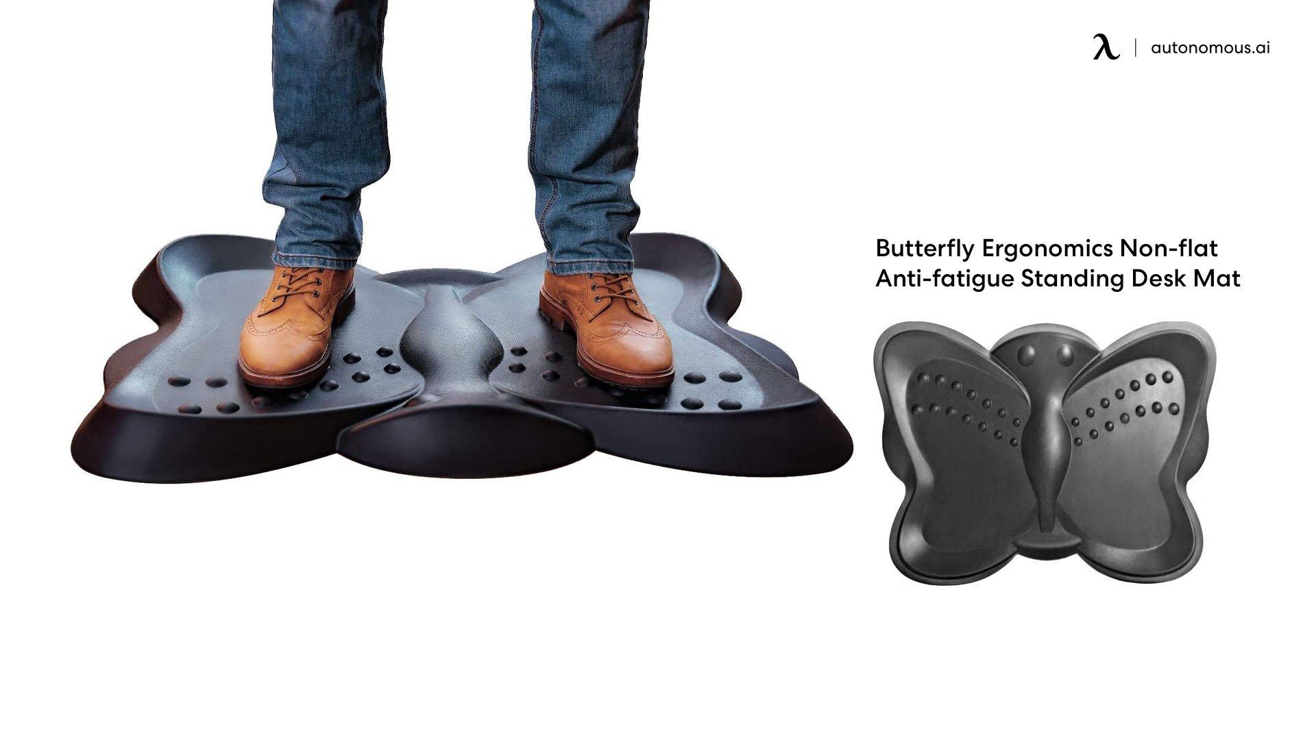 Butterfly Non-Flat Ergonomic Mat