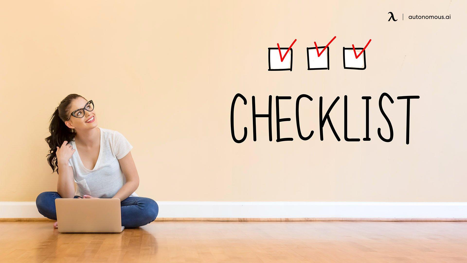Back to School Preparation Checklist for Teacher