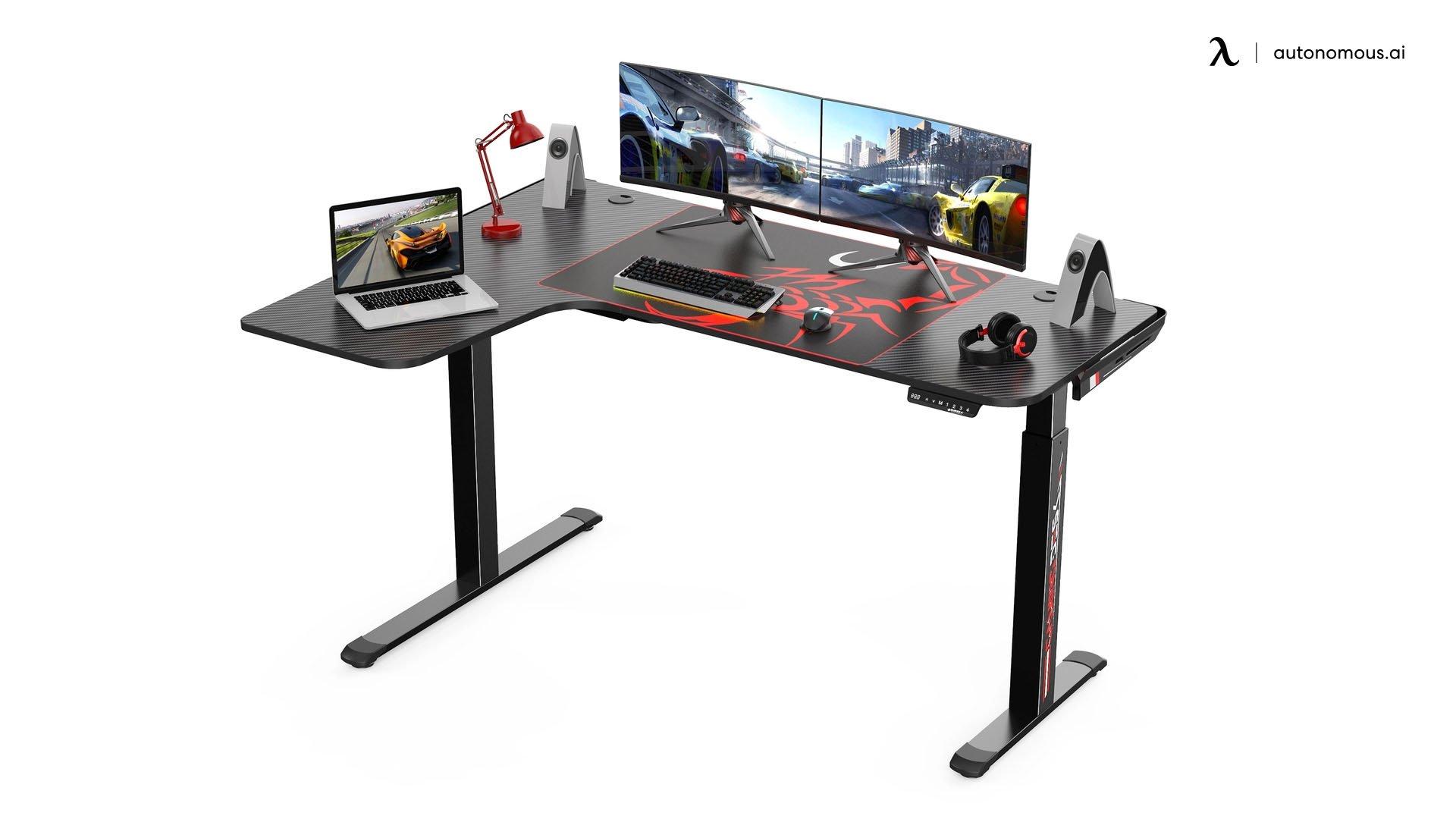 Eureka Gaming L60L-B Corner Desk