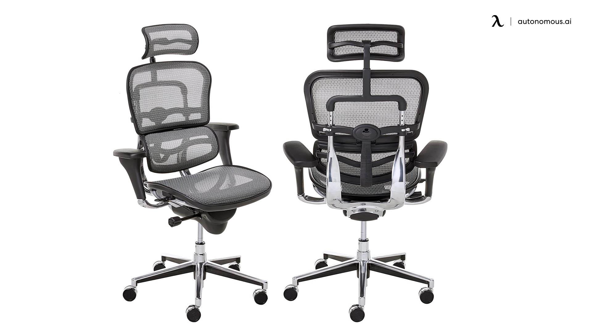 Ergohuman Grey Mesh High Back Swivel Chair