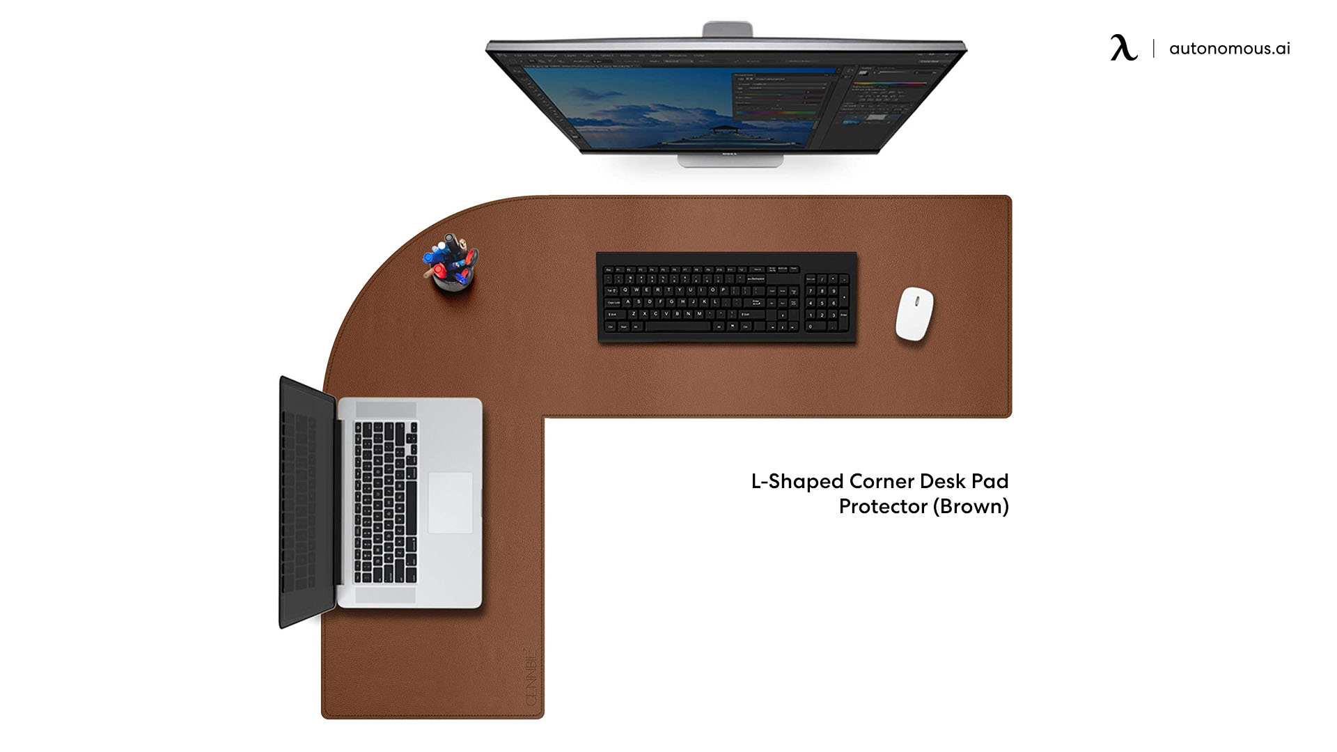 Office Corner Desk Mat