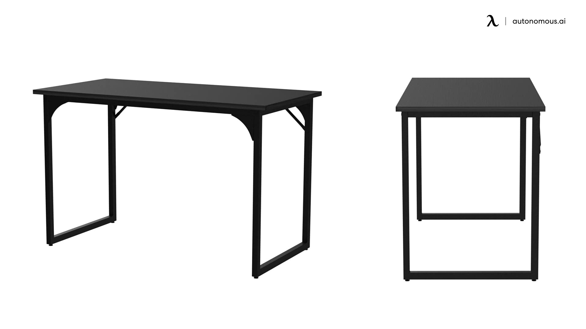 Yitahome Modern All Black Desk