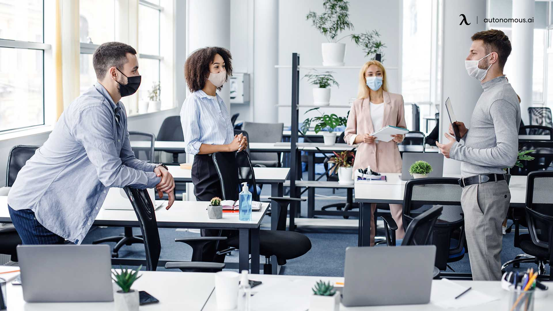 Top 5 Hybrid Workplace Design Considerations