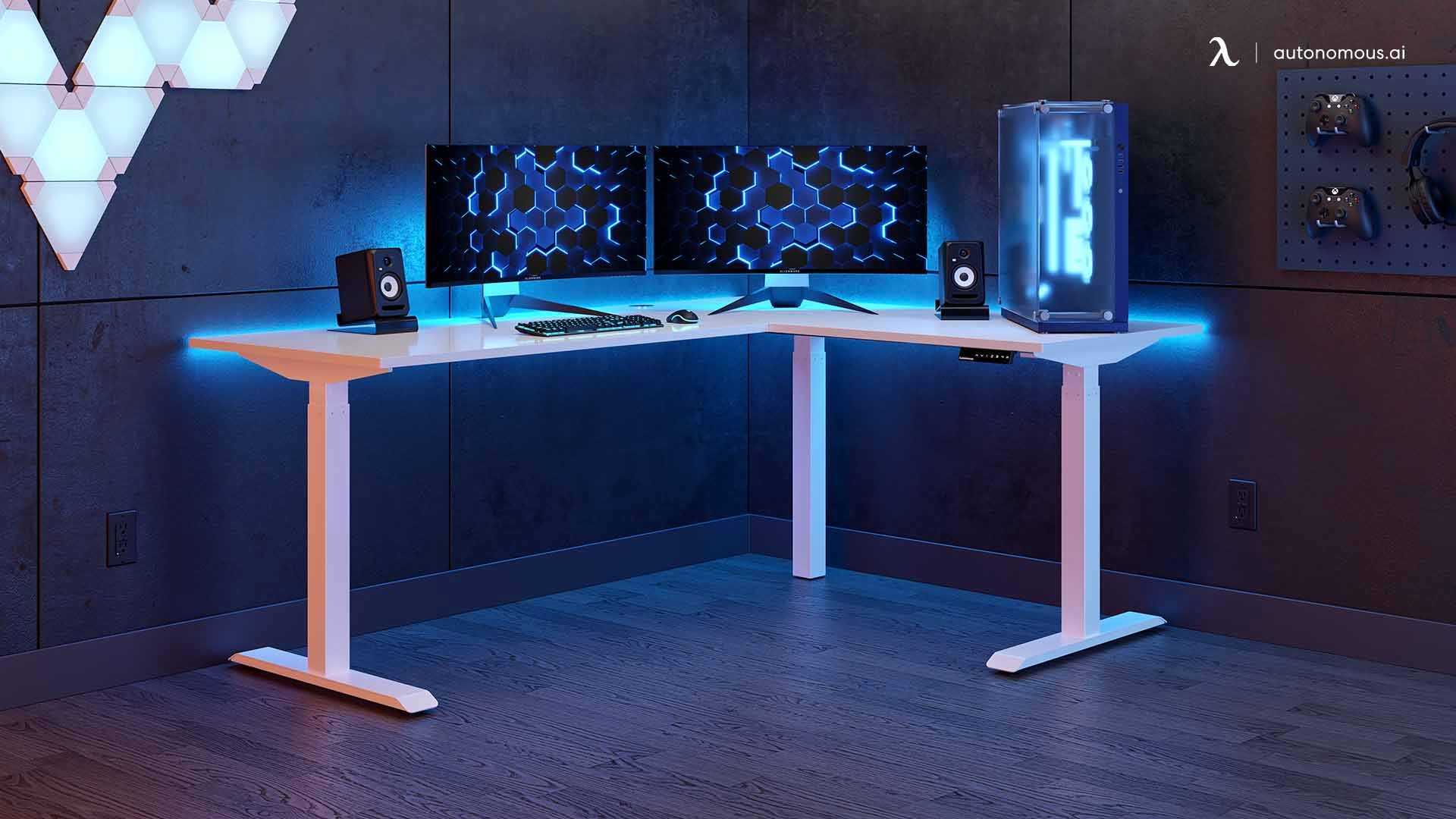 Why Choose White for Your Gaming Setup