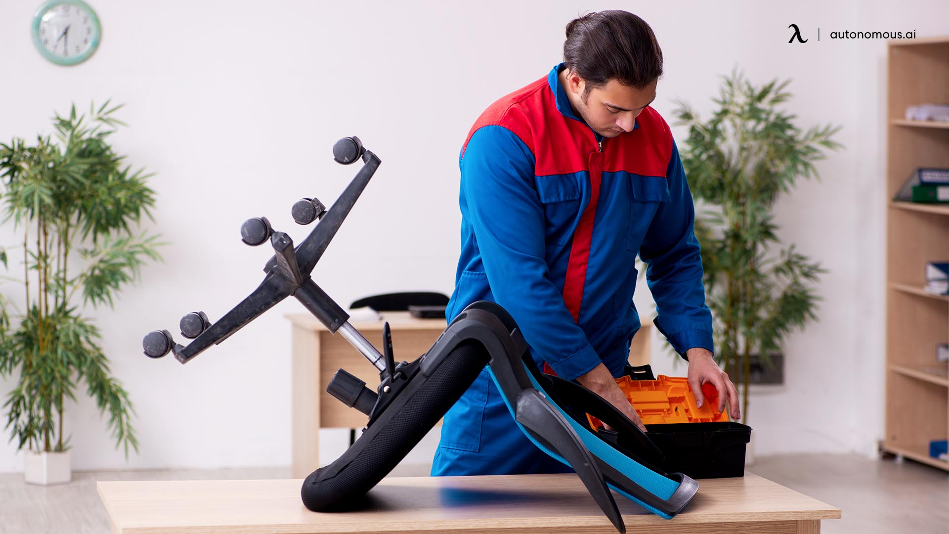 How to fix a wobbly office chair
