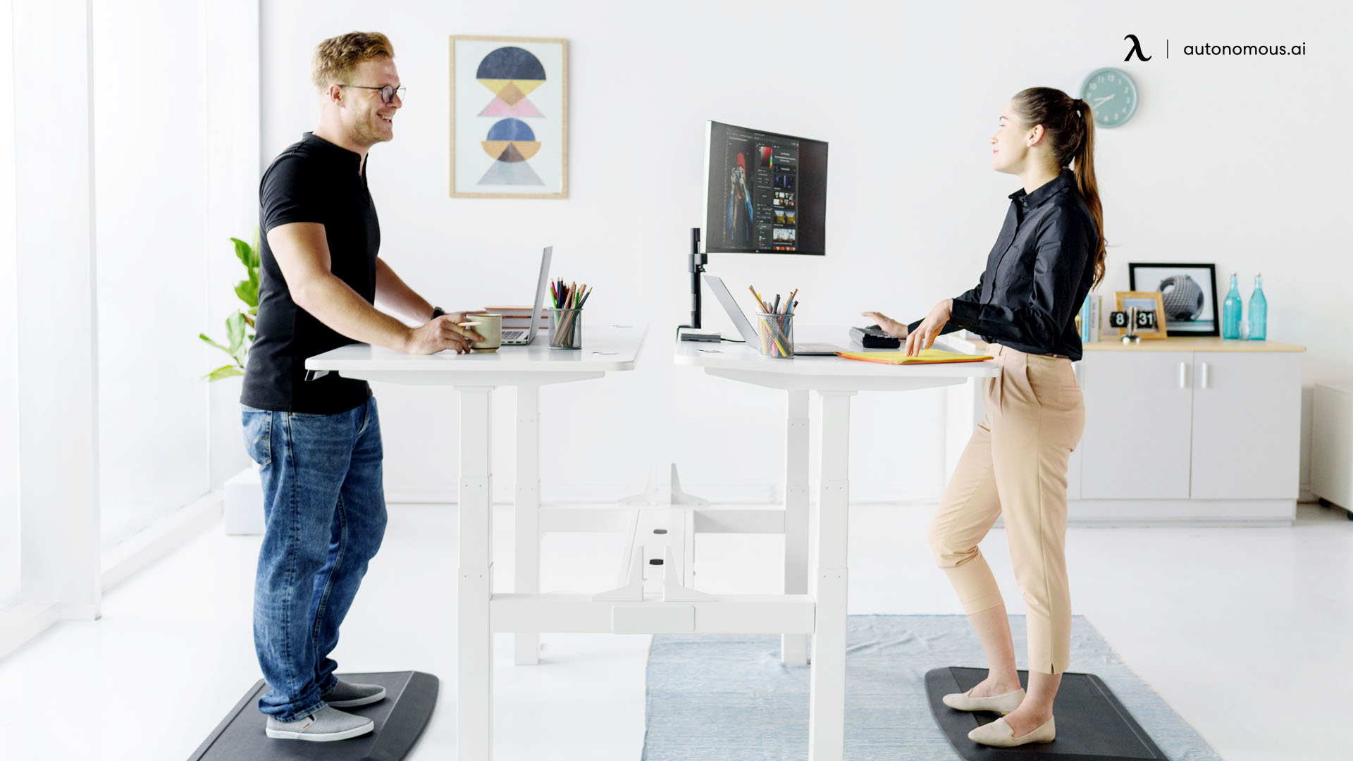 Benefits and Challenges of a shared home office