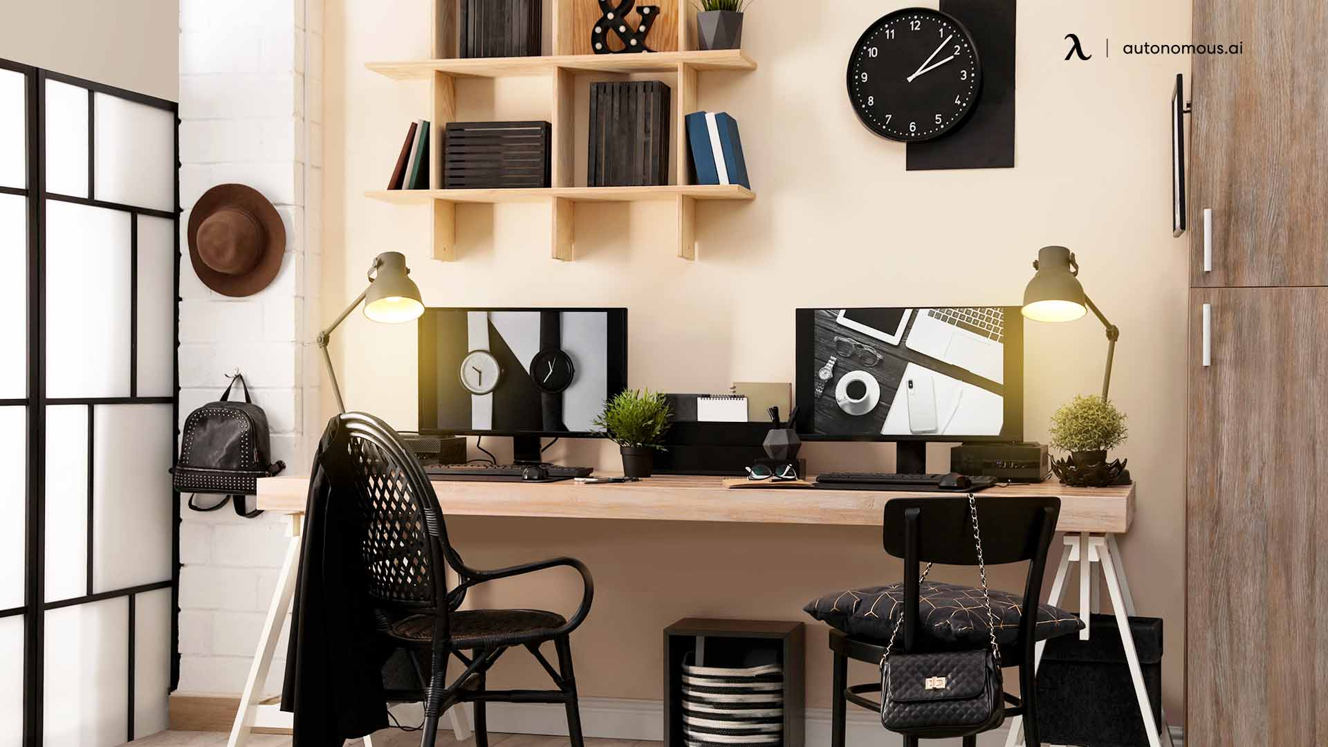 Setting up shared home office the easy way