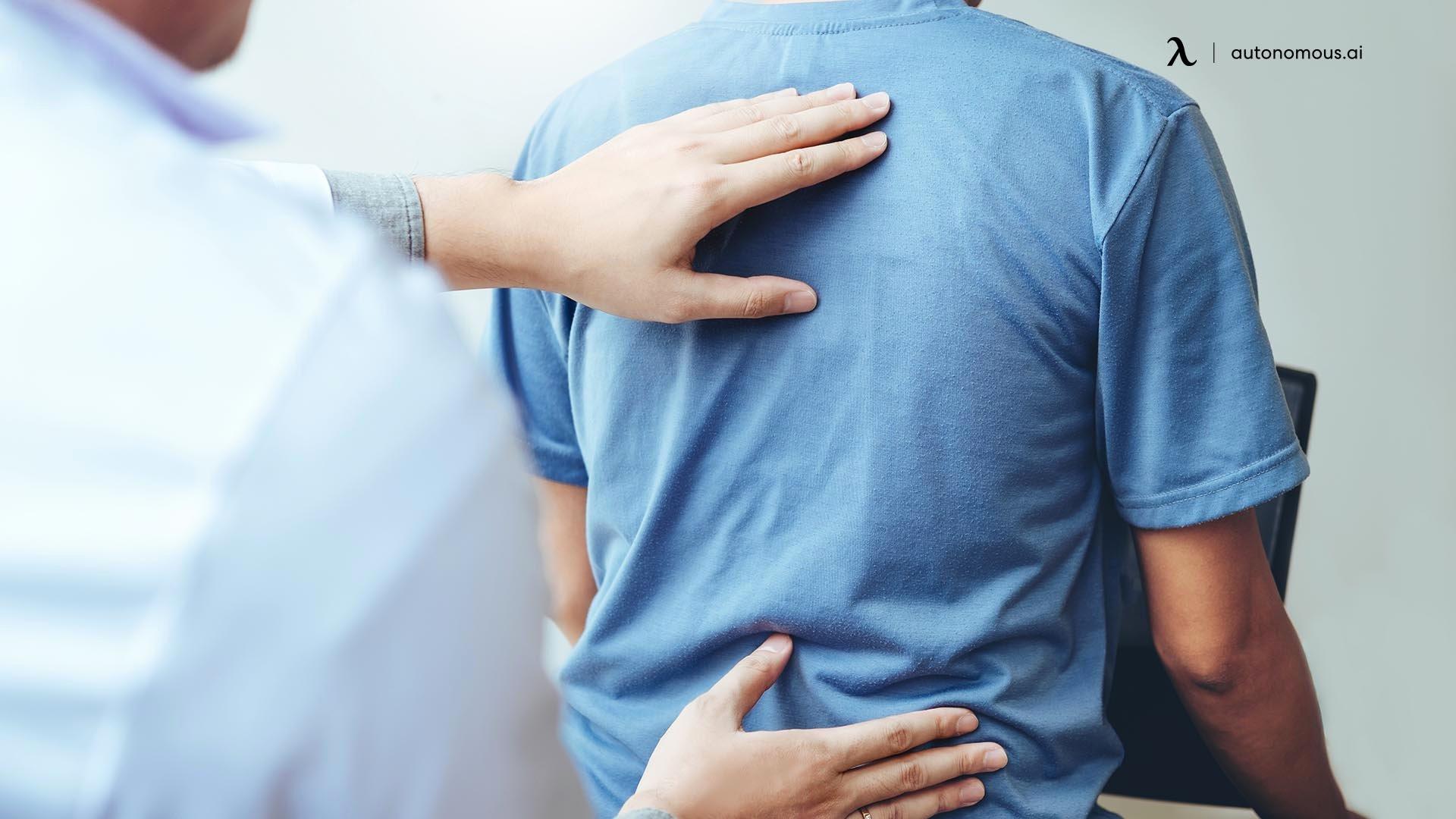 visit the chiropractor
