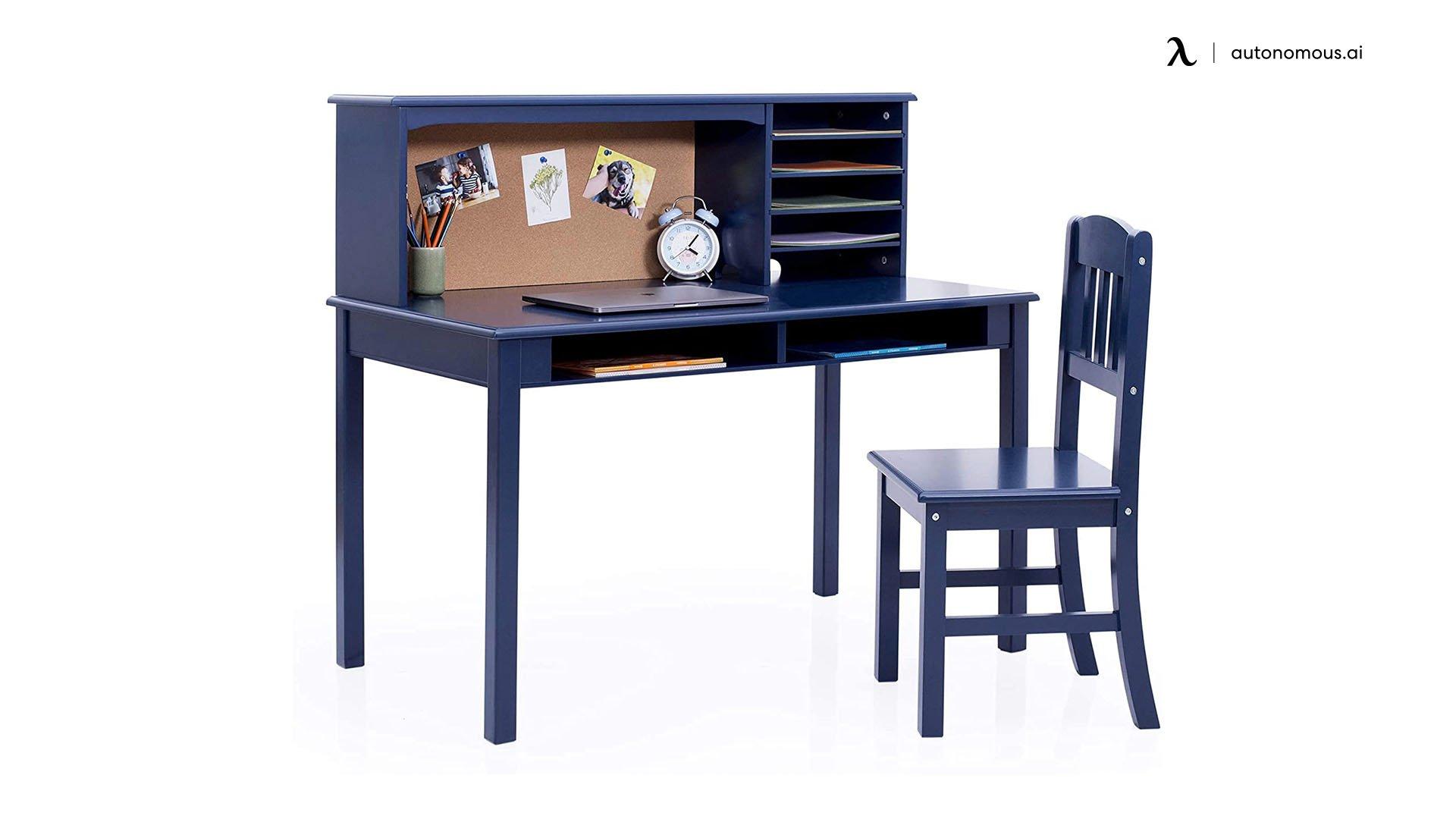 Guidecraft Children's Media Desk and Chair Set