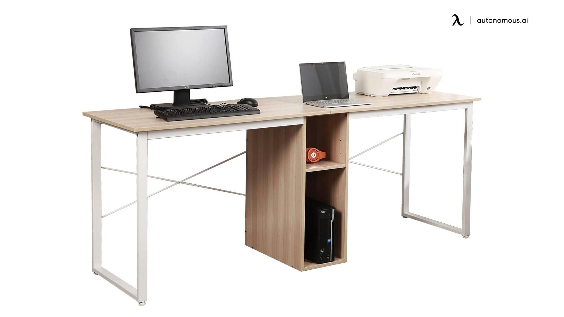 SogesHome 2-Person Computer Desk