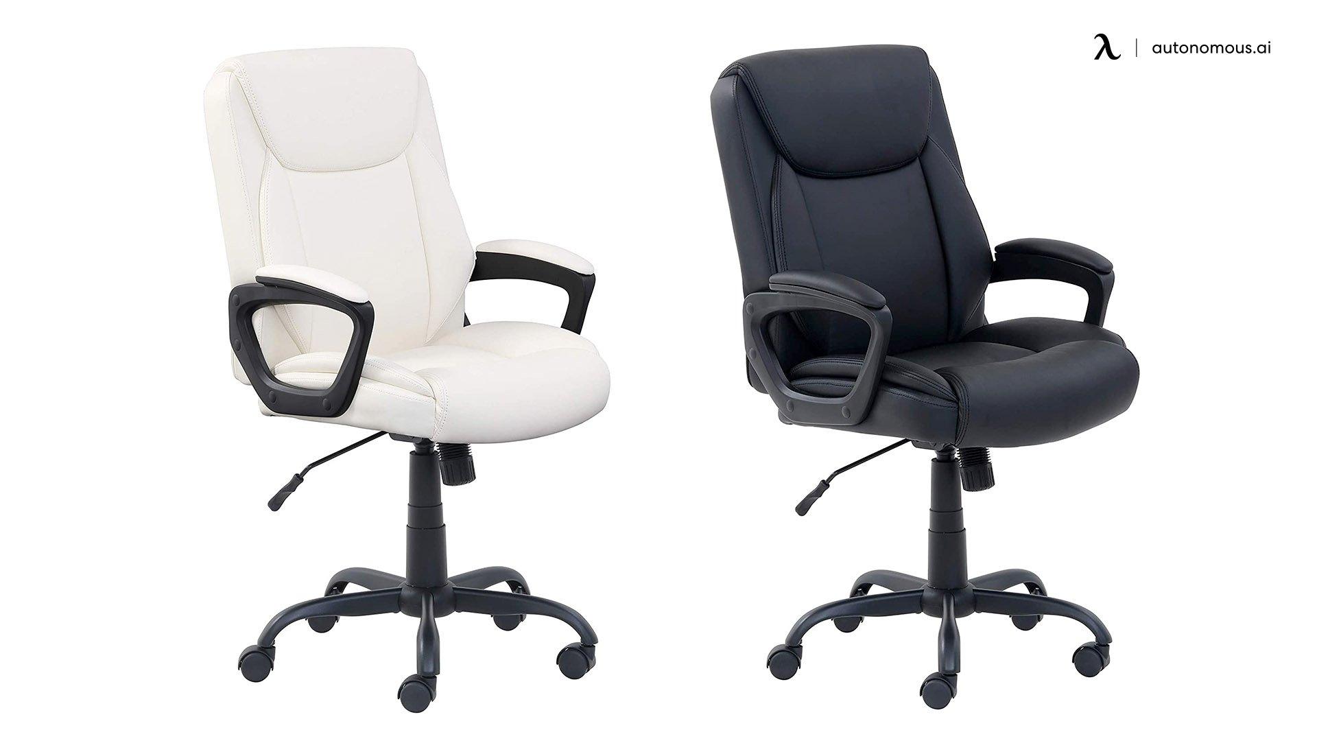 AmazonBasics Classic Puresoft PU Chair