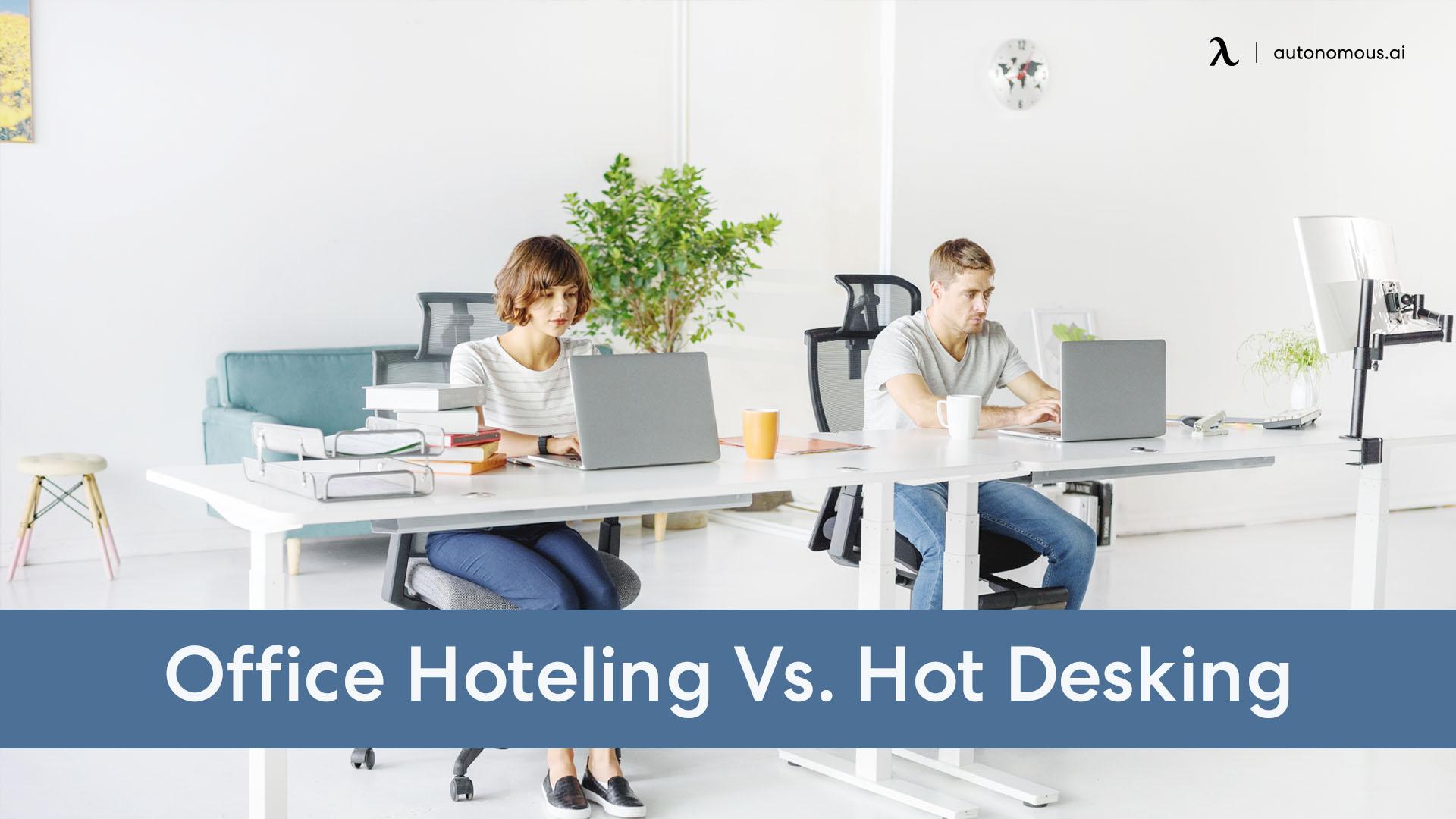 hoteling vs hot desking