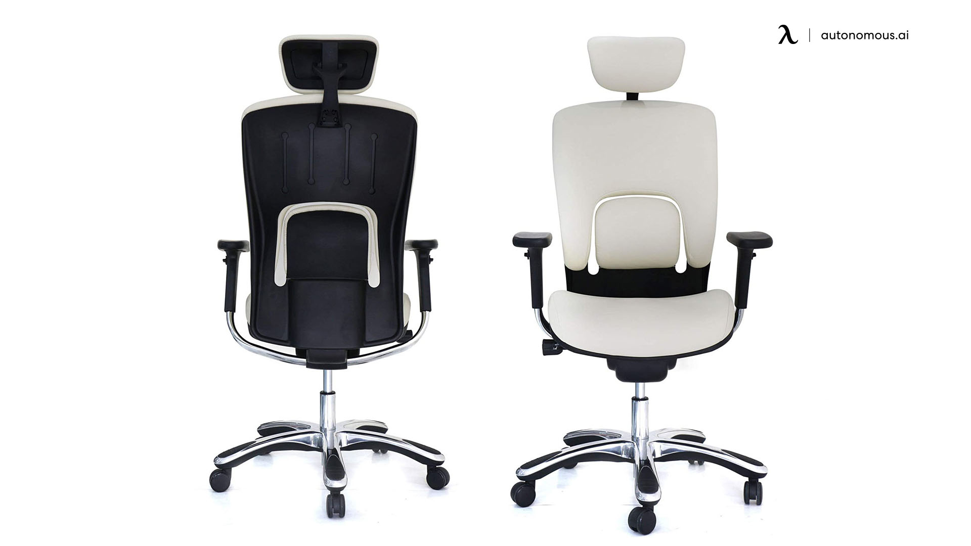 GM Seating White Leather
