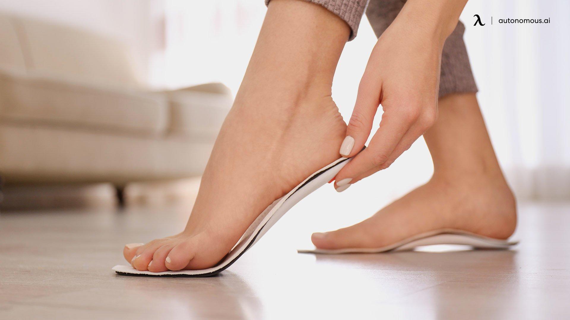 Flat feet cure