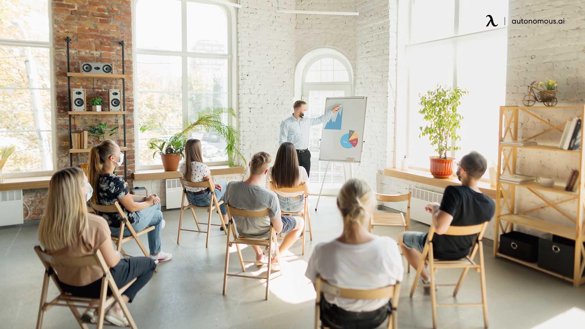 Providing More Workshops or Resources