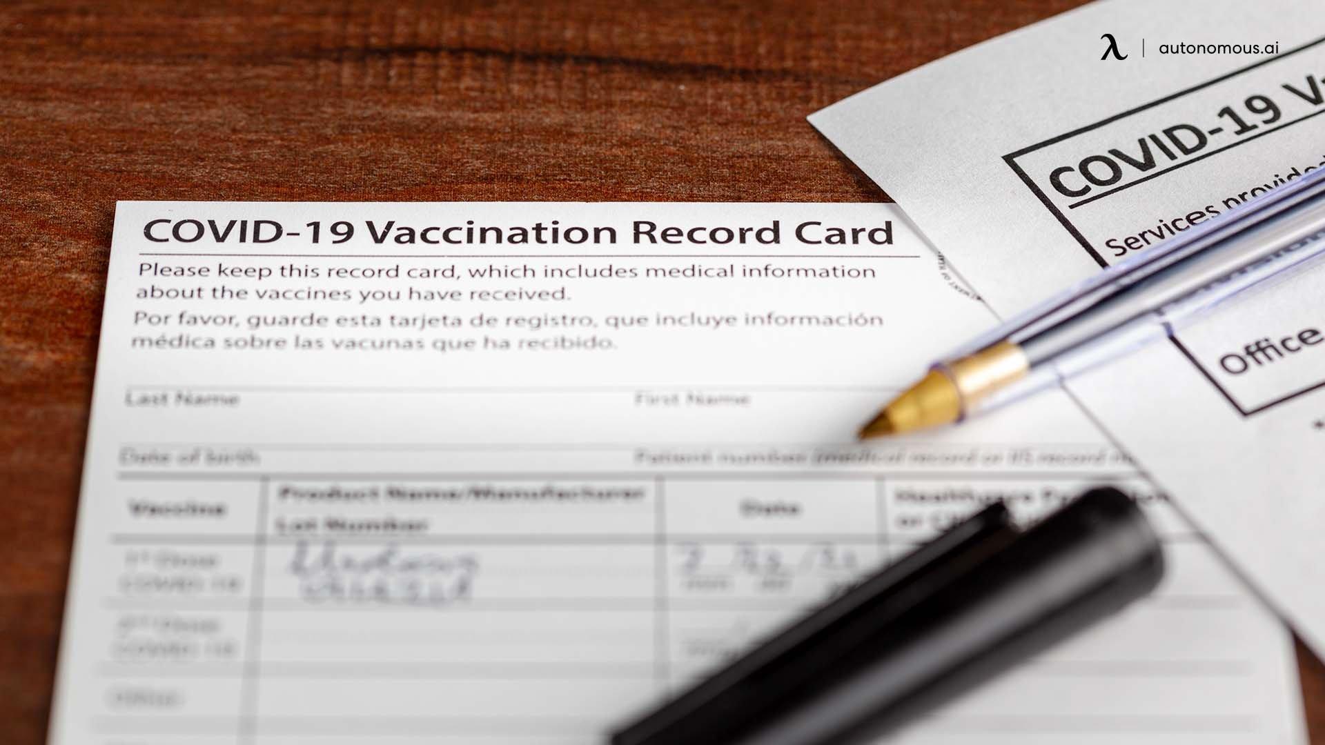 Vaccination details