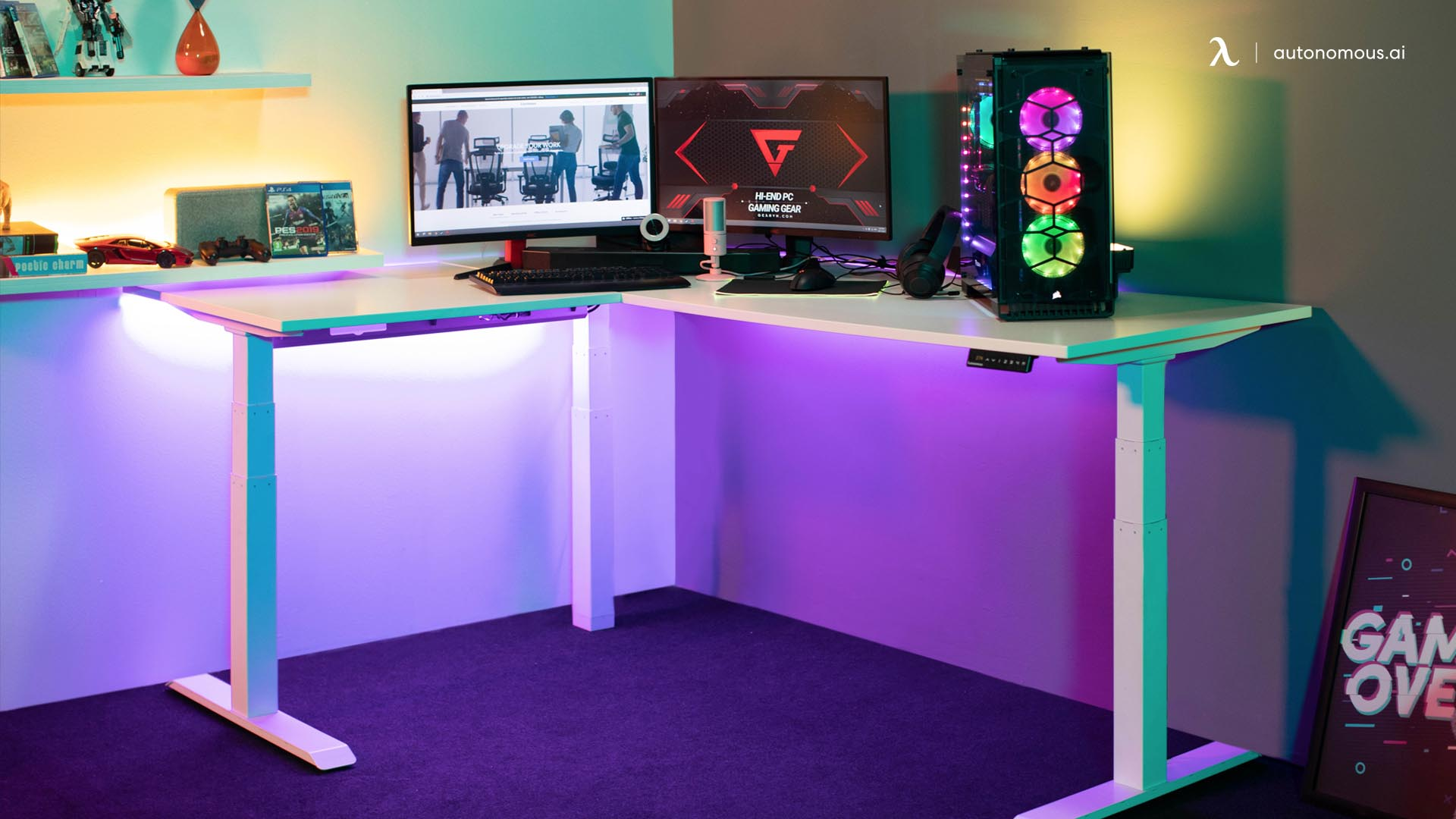 What is The RGB Desk Setup