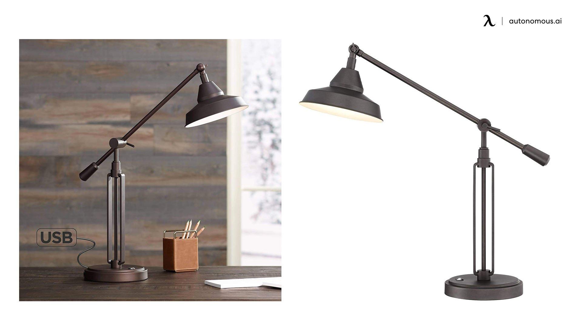 Franklin Iron Works Turnbuckle LED Desk Lamp