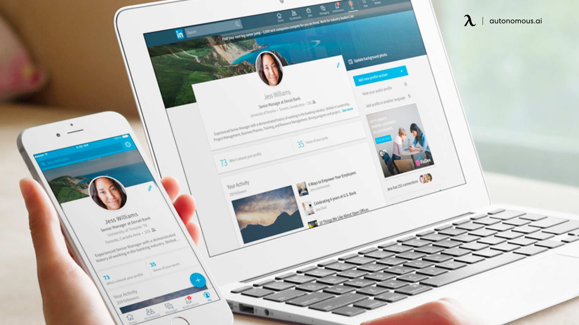 What are you waiting to start using LinkedIn?