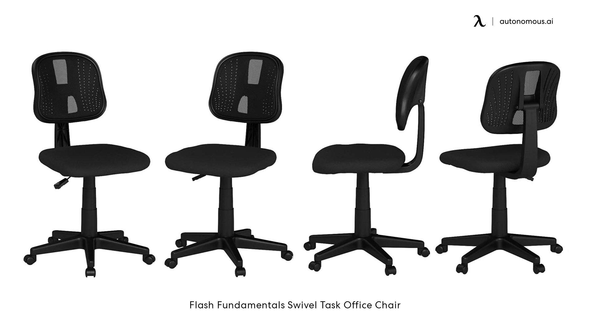 Swivel Ergonomic Task Chair from Flash Fundamentals