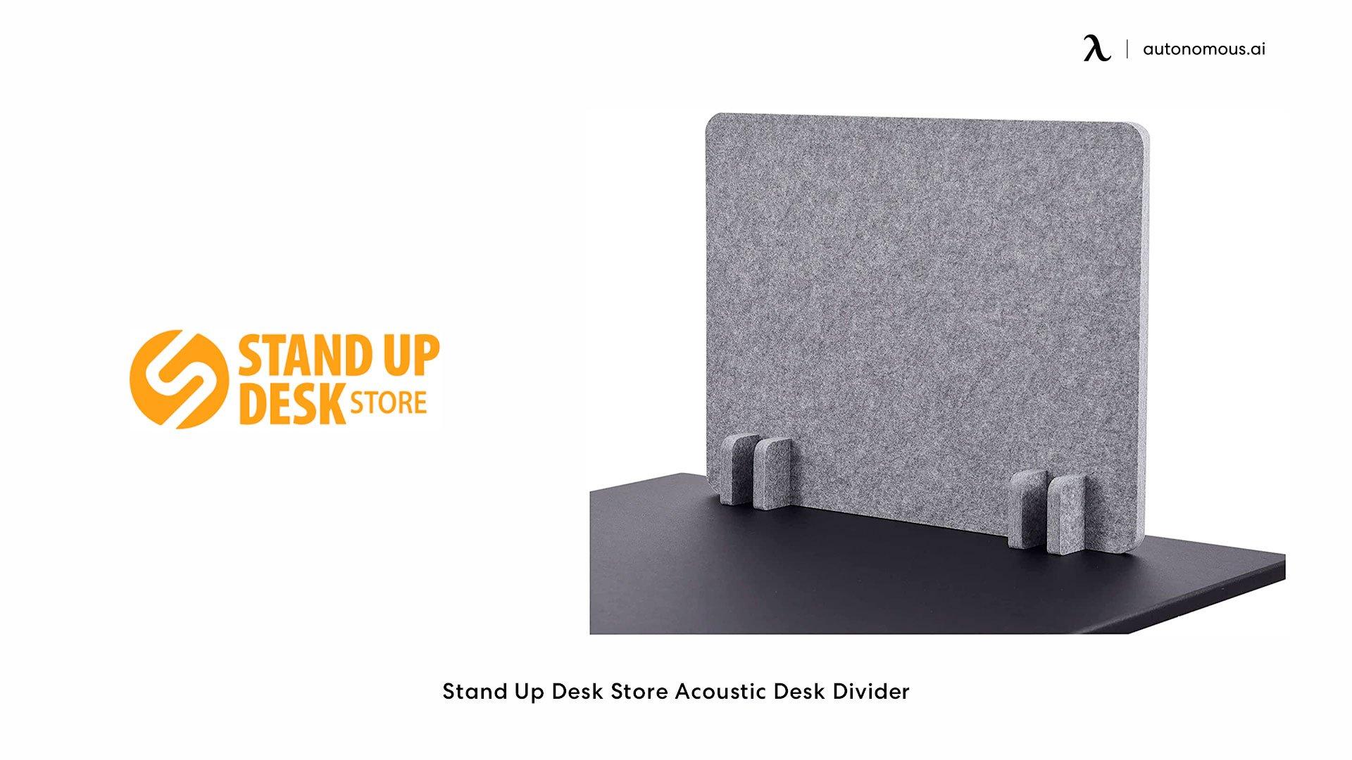 Stand Up Desk Store Acoustic Desk Divider