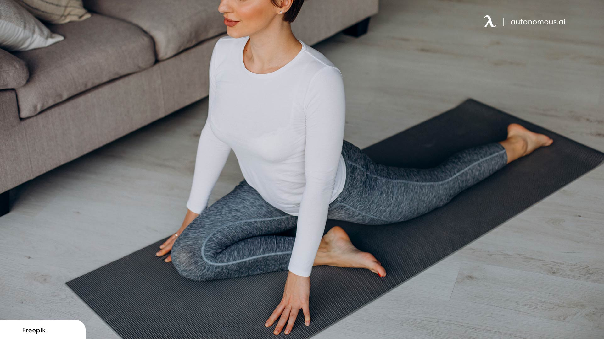 Seated Pigeon Stretch