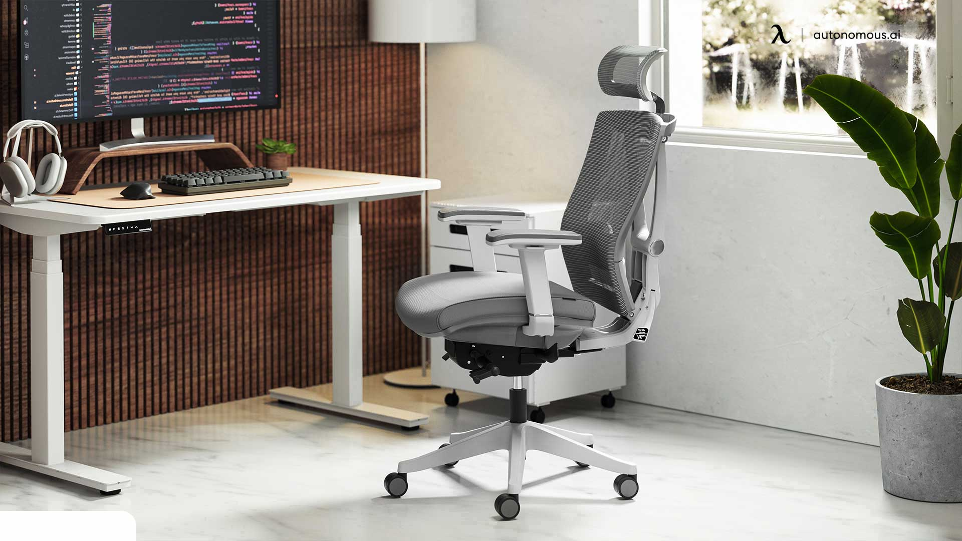 Add a Smart Standing Desk and Chair