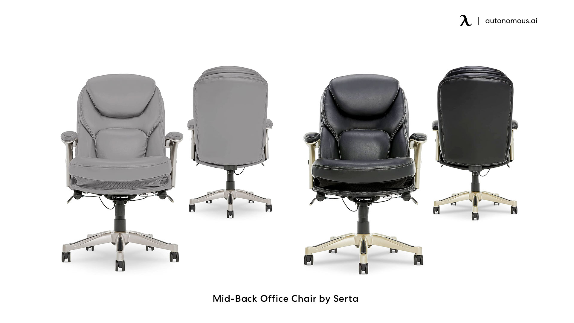 Mid-Back Office Chair by Serta