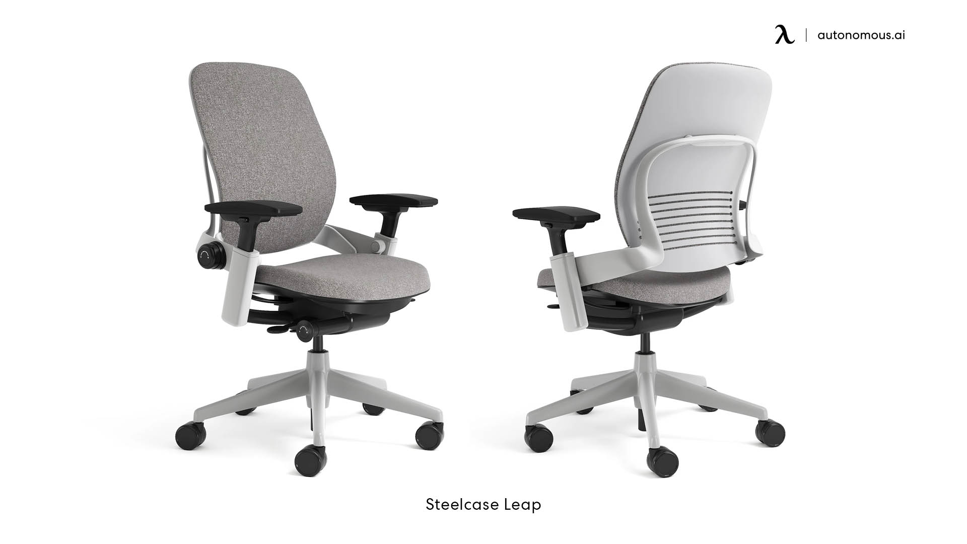 Steelcase Leap Fabric Ergonomic Office Chair