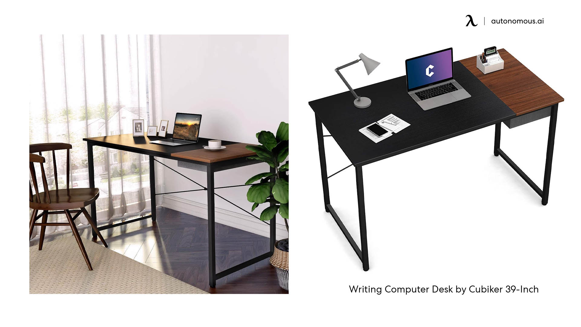 Writing Computer Desk by Cubiker 39-Inch