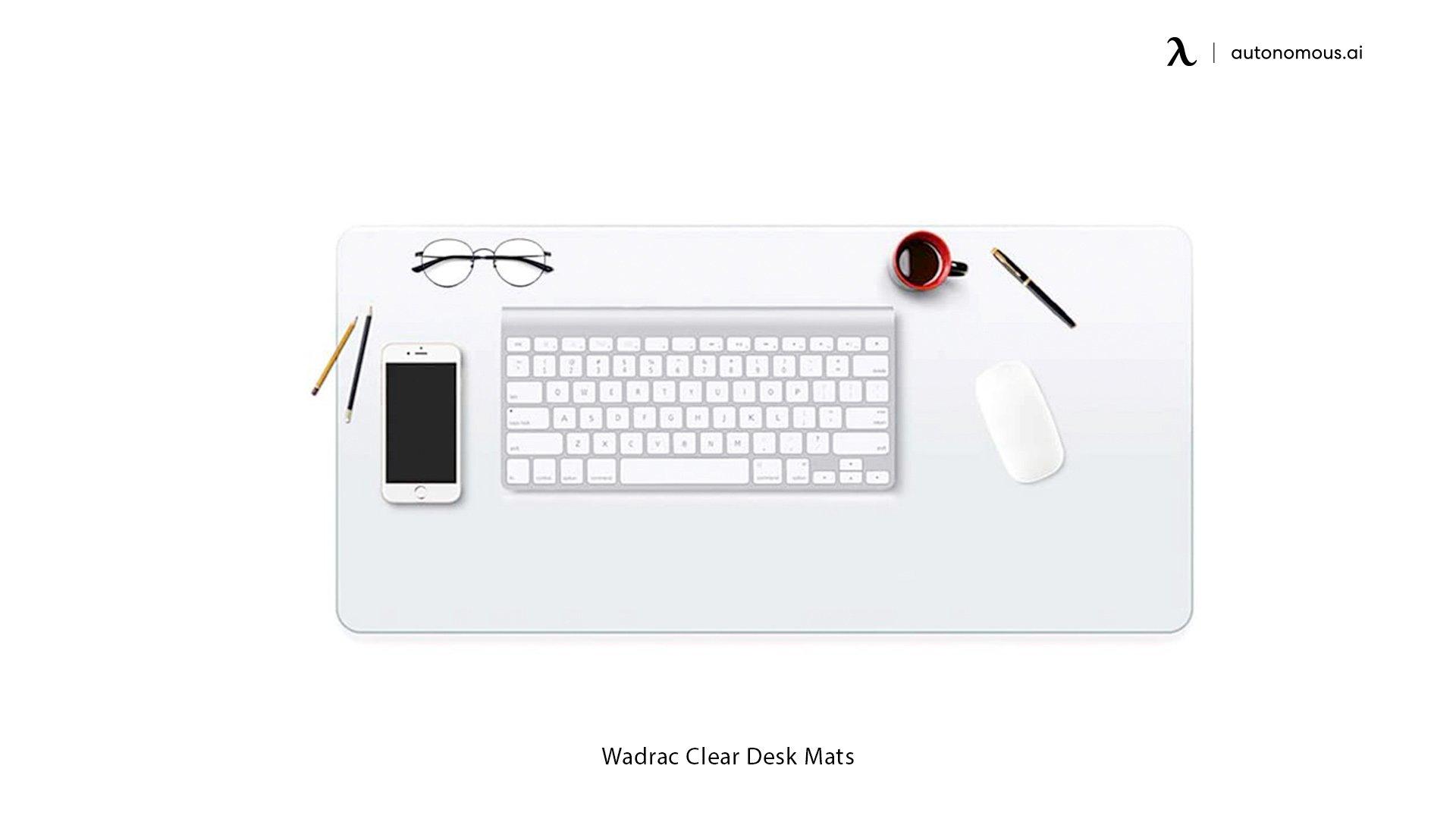Clear Desk Mats