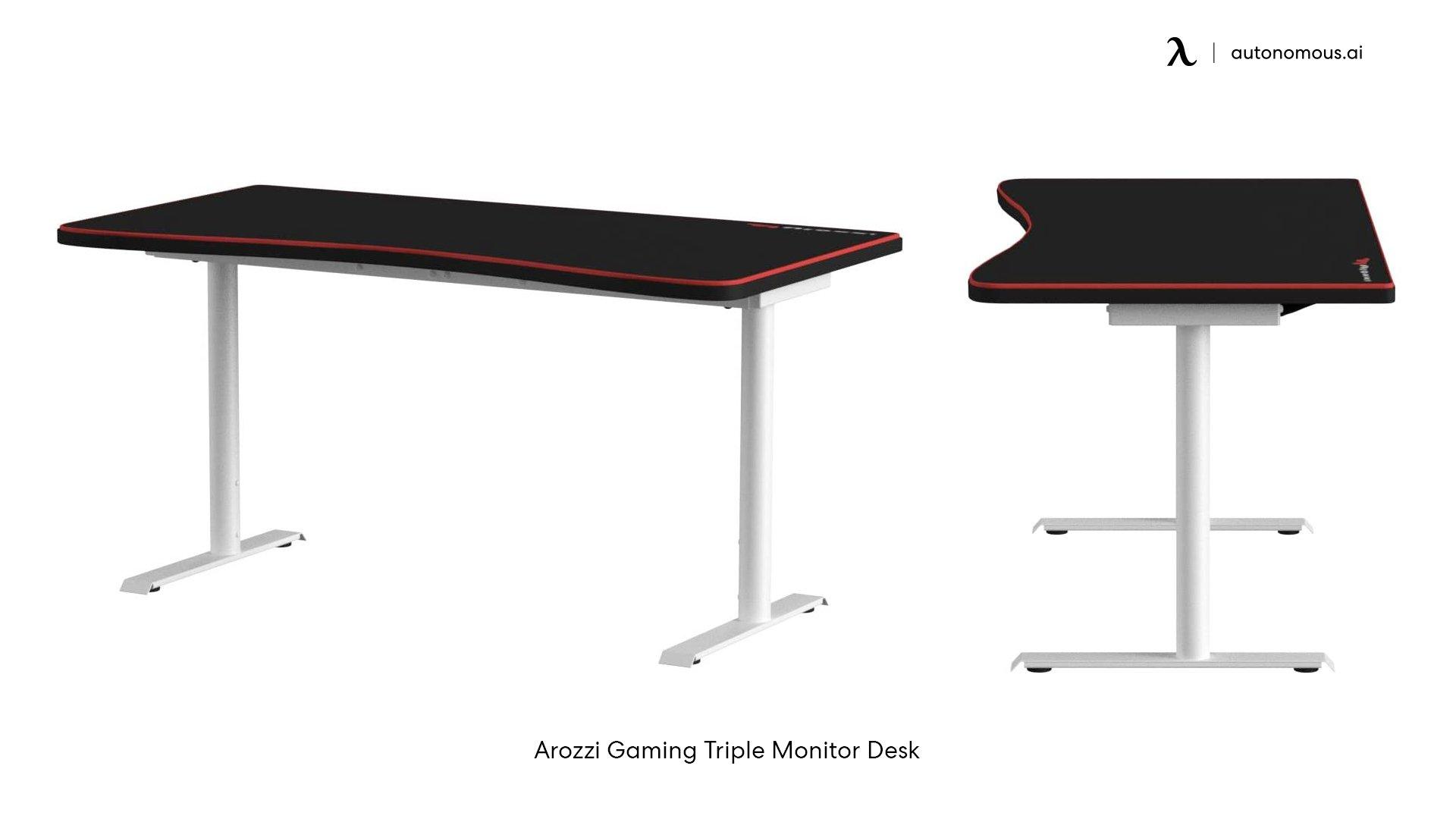 Gaming 3-Monitor Desk