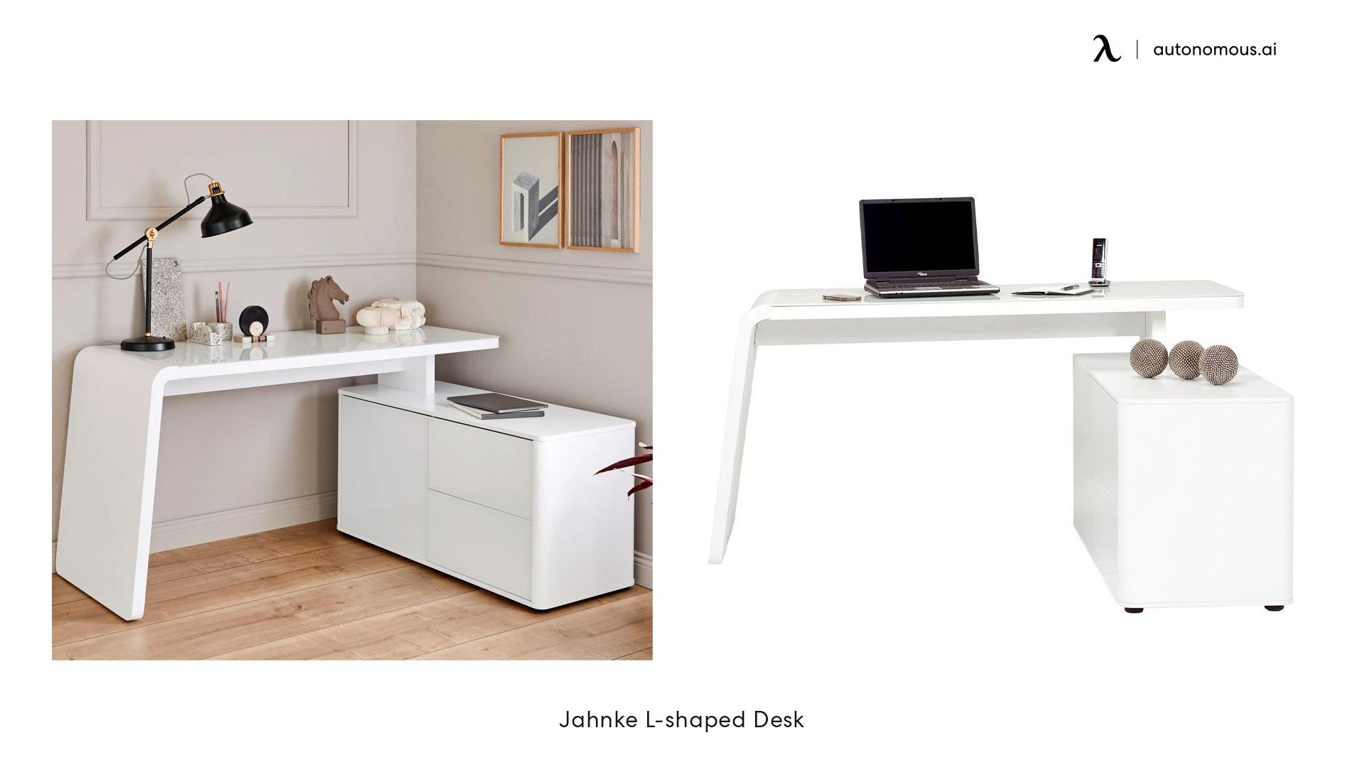 Jahnke L-shaped Desk