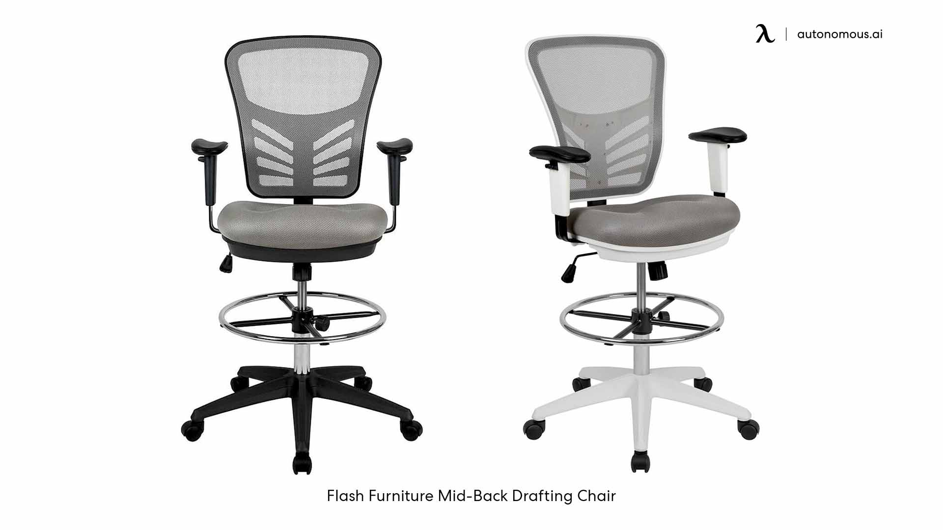 Flash Furniture Mid-Back Drafting Chair