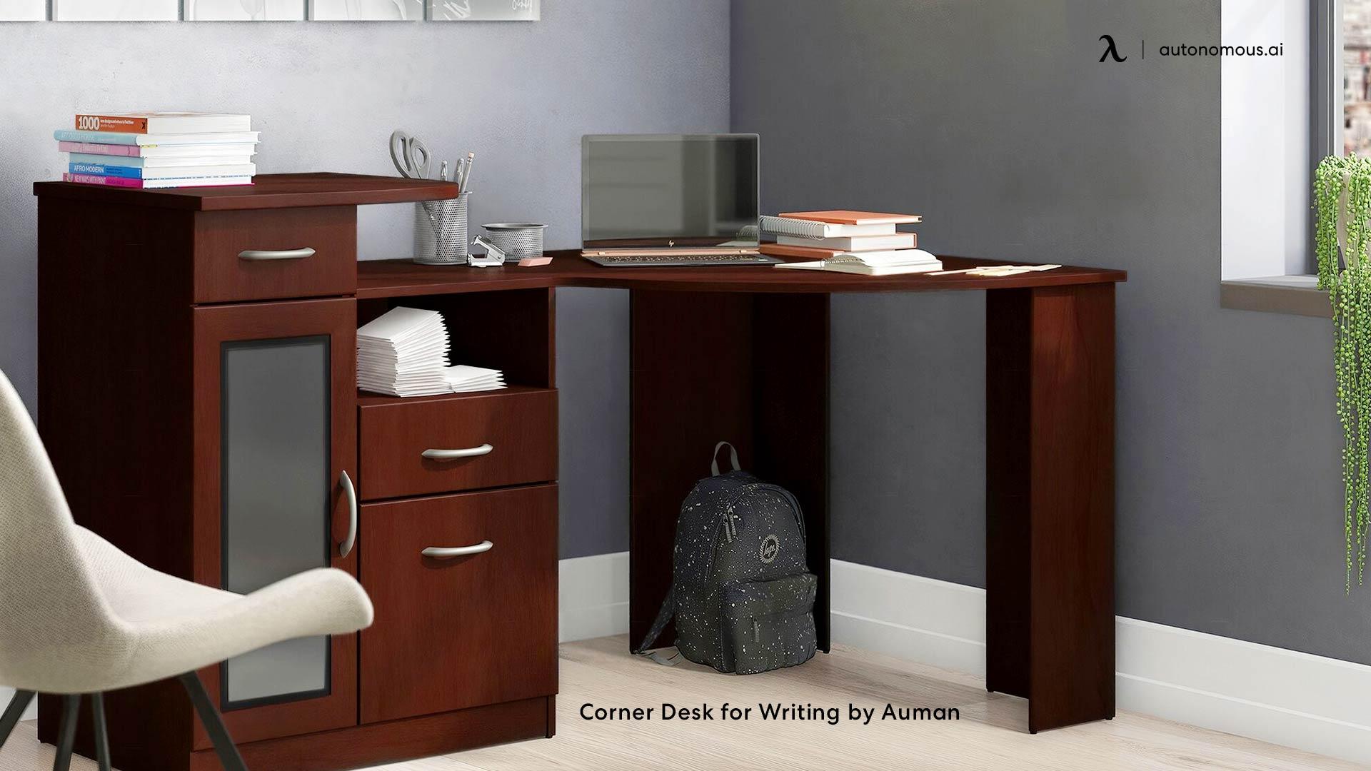 Corner Desk for Writing by Auman