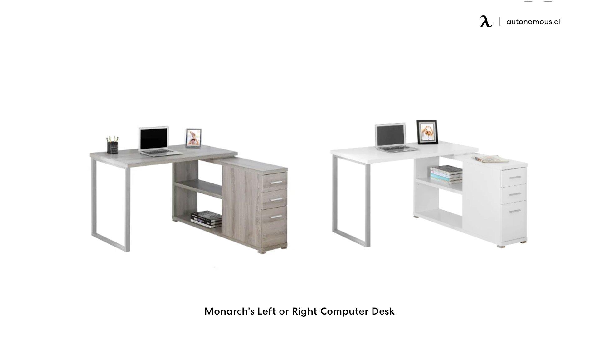 Monarch's Left or Right Computer Desk
