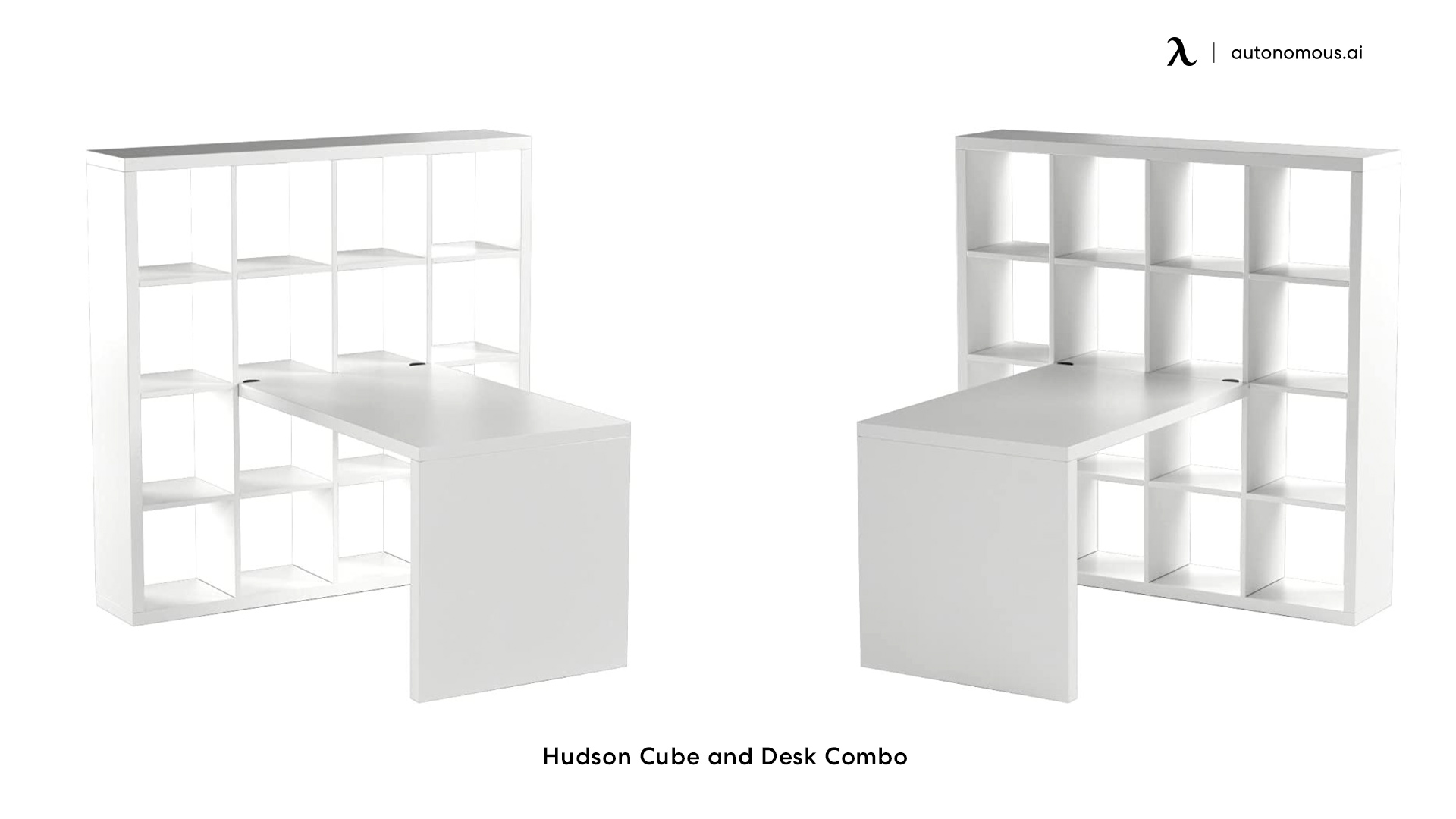 Hudson Cube and Desk Combo